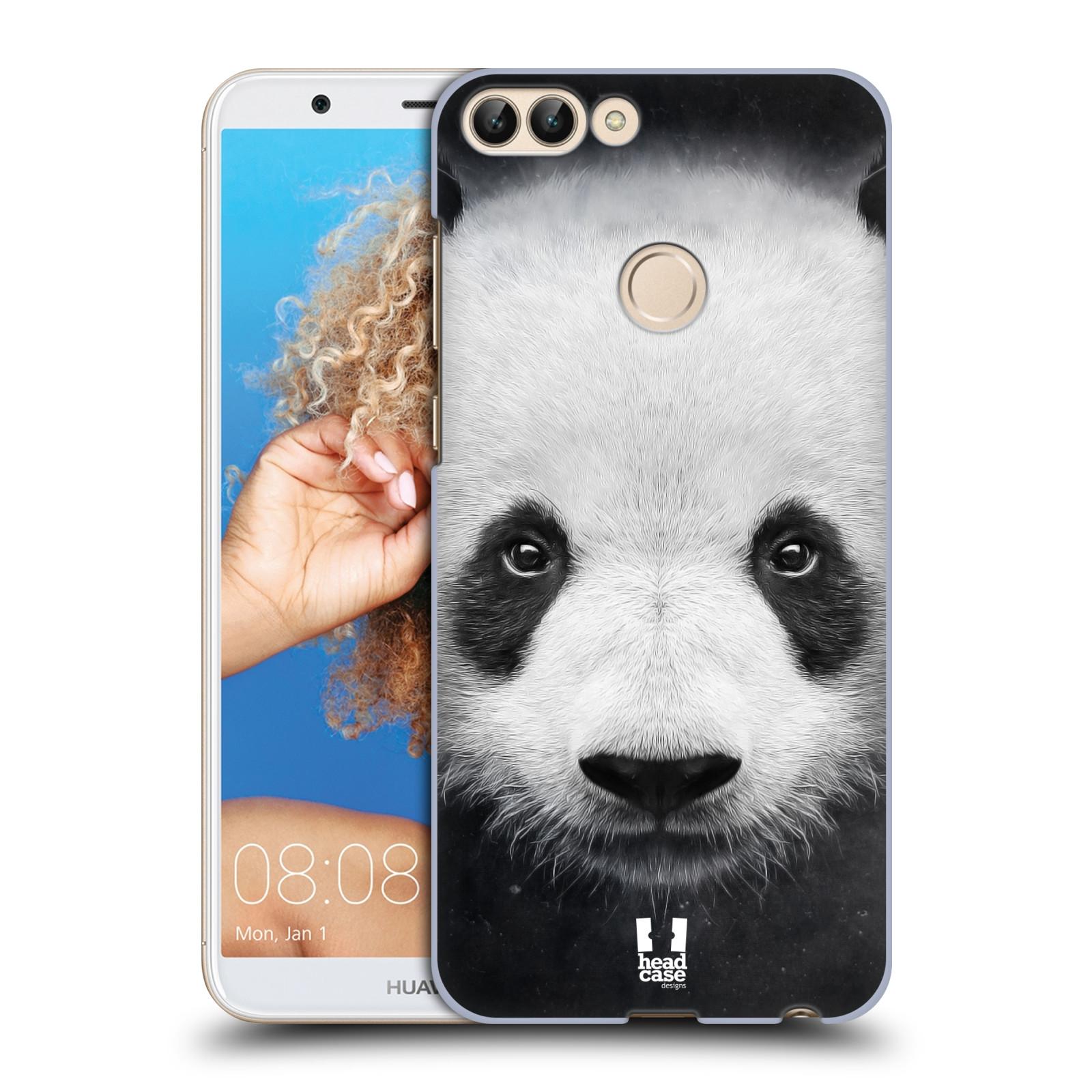 HEAD CASE plastový obal na mobil Huawei P Smart vzor Zvířecí tváře medvěd panda