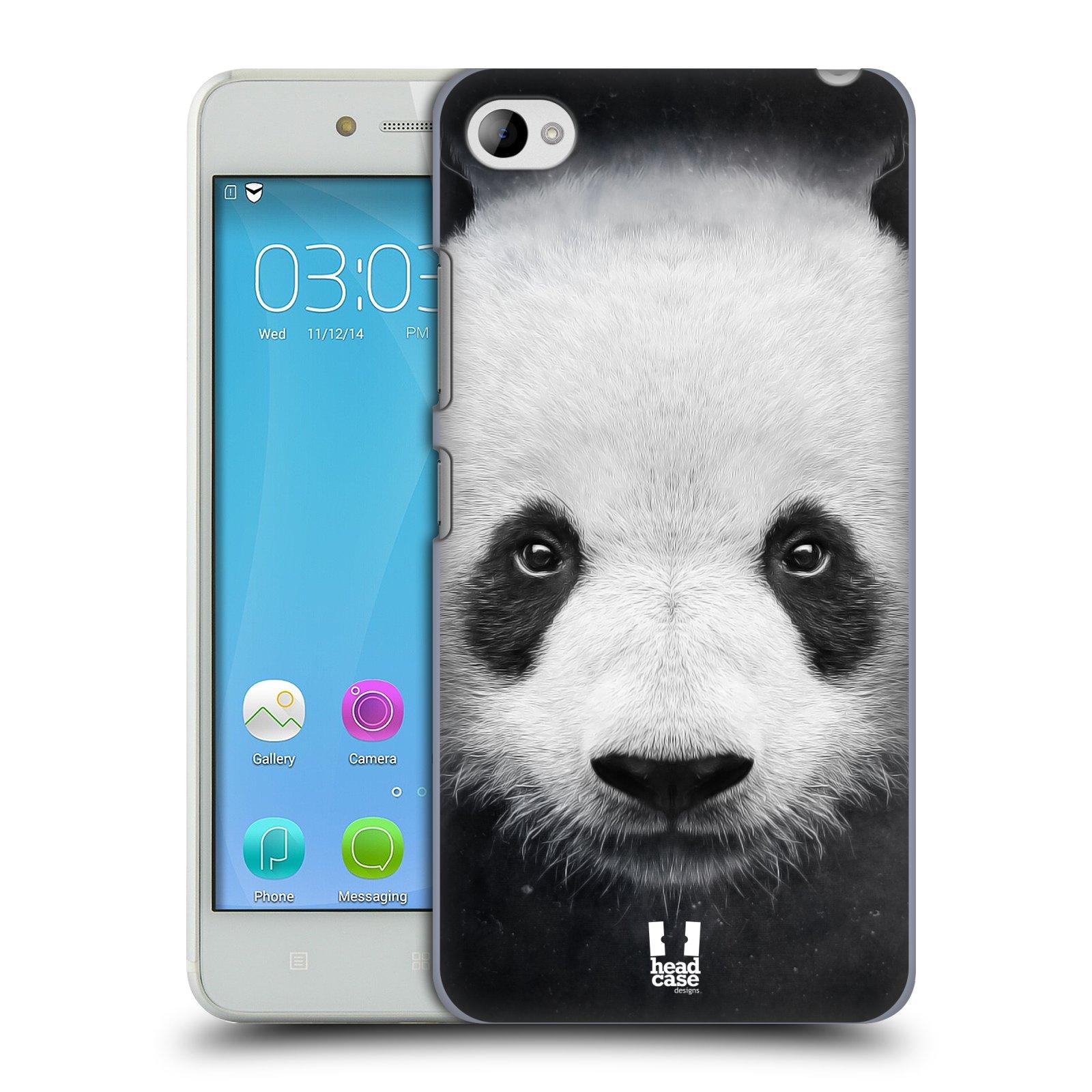 HEAD CASE pevný plastový obal na mobil LENOVO S90 vzor Zvířecí tváře medvěd panda