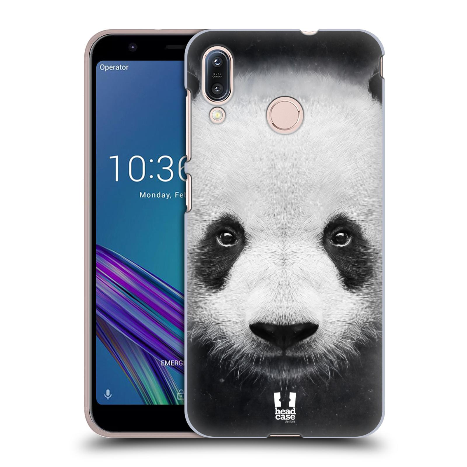 Pouzdro na mobil Asus Zenfone Max M1 (ZB555KL) - HEAD CASE - vzor Zvířecí tváře medvěd panda