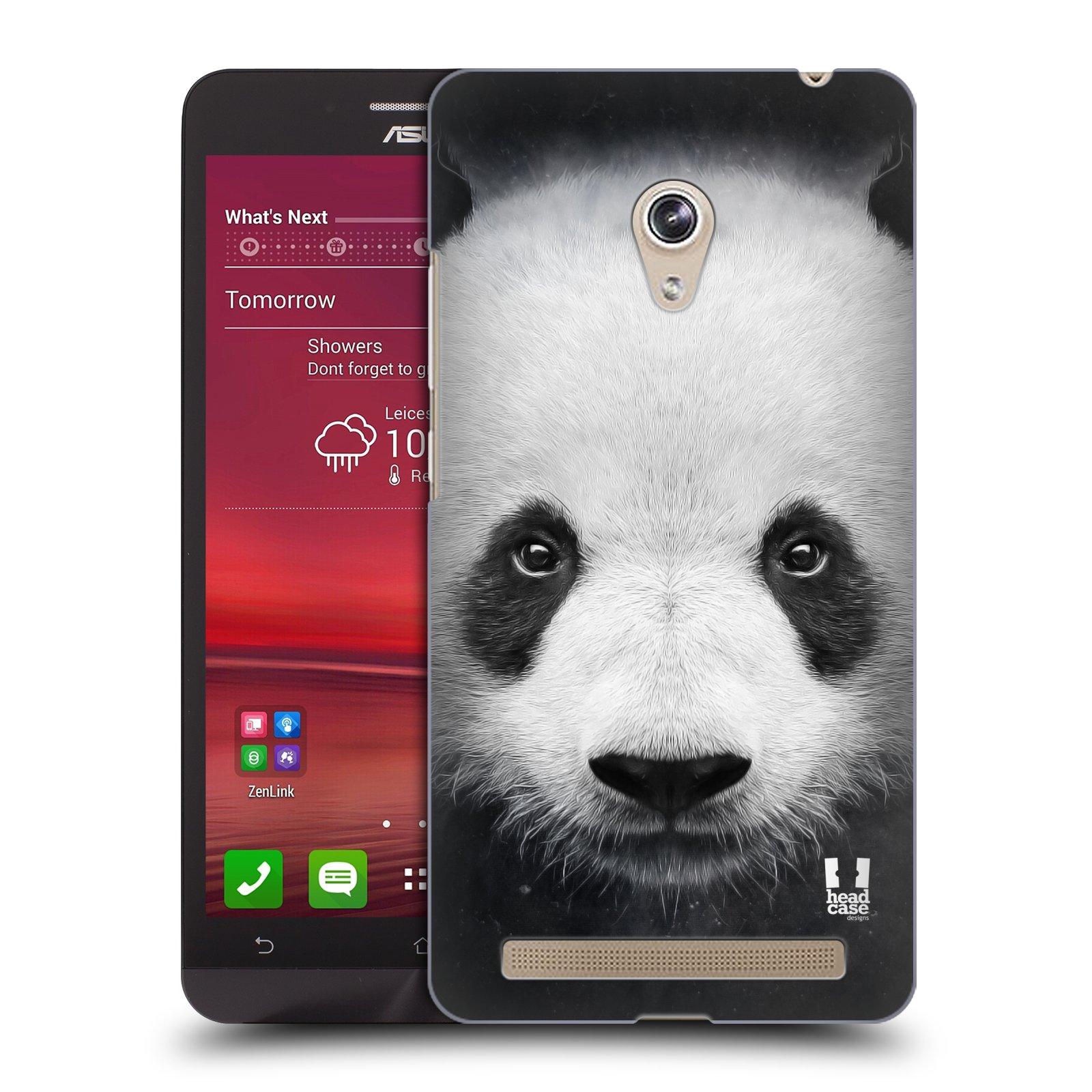 HEAD CASE plastový obal na mobil Asus Zenfone 6 vzor Zvířecí tváře medvěd panda