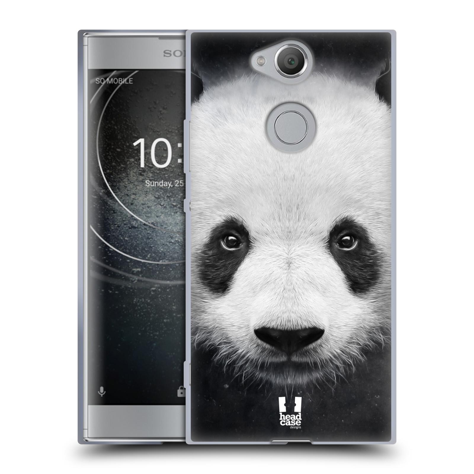 Pouzdro na mobil Sony Xperia XA2 (DUAL SIM, SINGLE SIM) vzor Zvířecí tváře medvěd panda