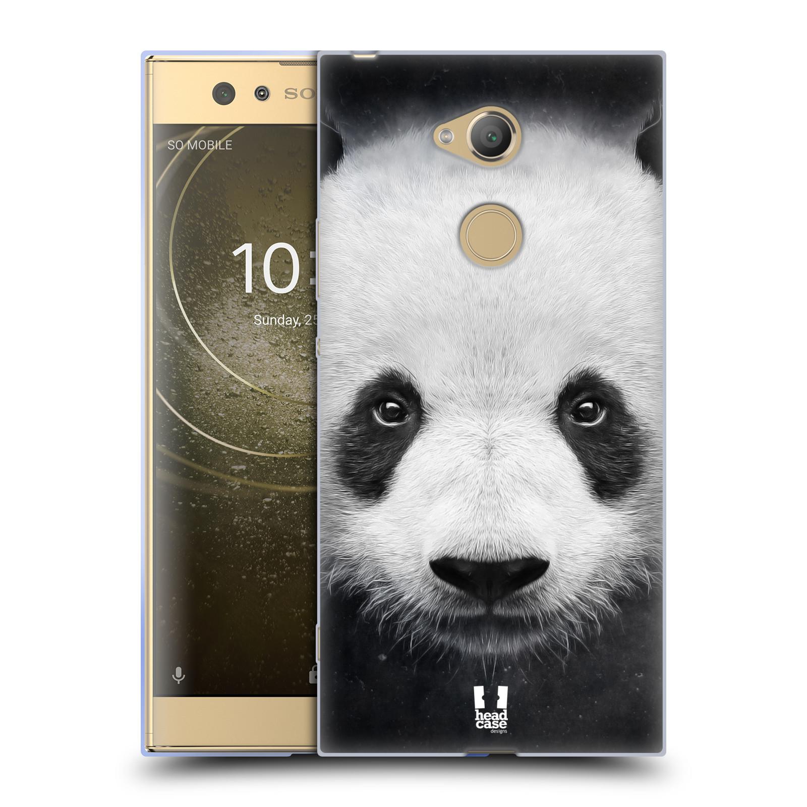 Pouzdro na mobil Sony Xperia XA2 Ultra vzor Zvířecí tváře medvěd panda