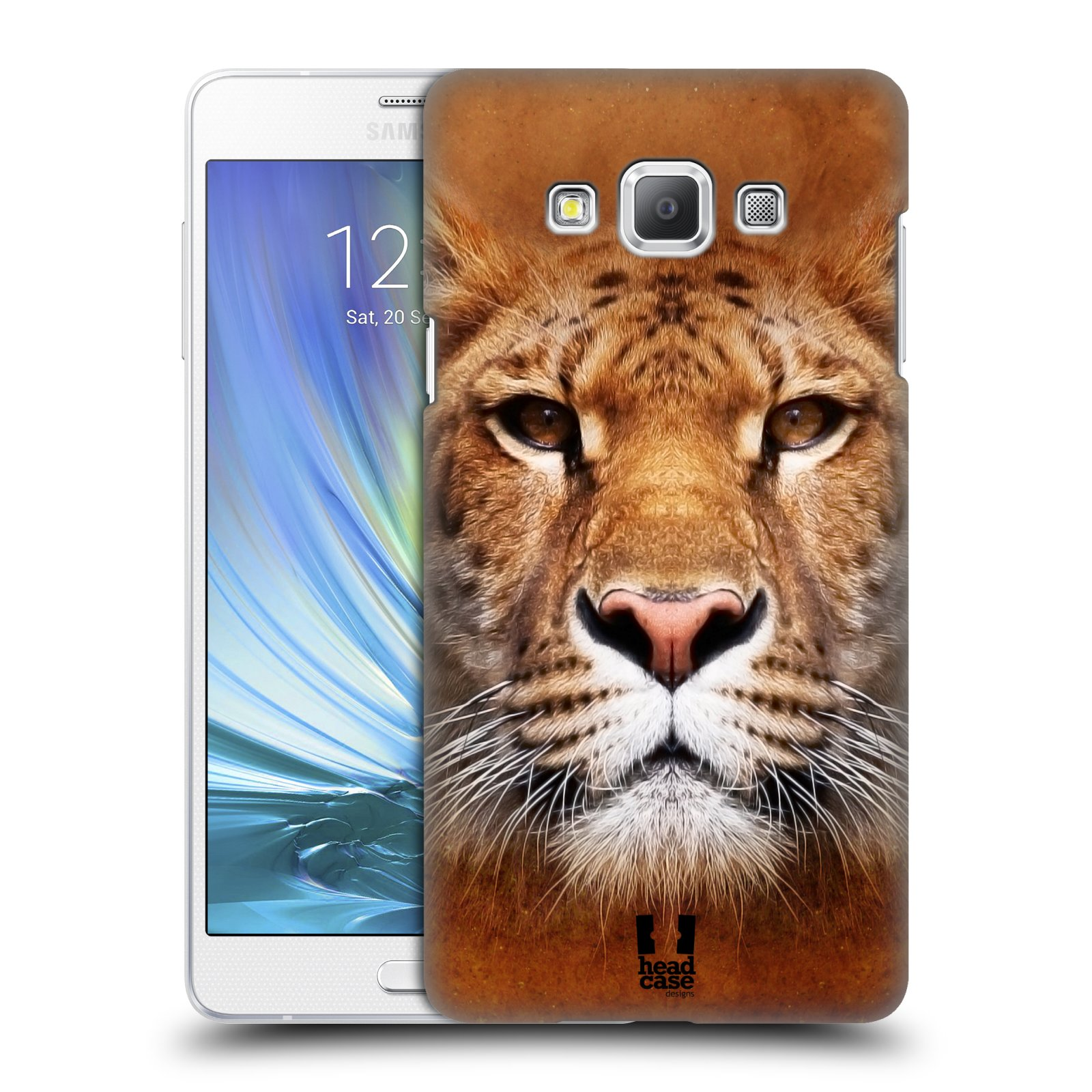 HEAD CASE plastový obal na mobil SAMSUNG GALAXY A7 vzor Zvířecí tváře Sibiřský tygr