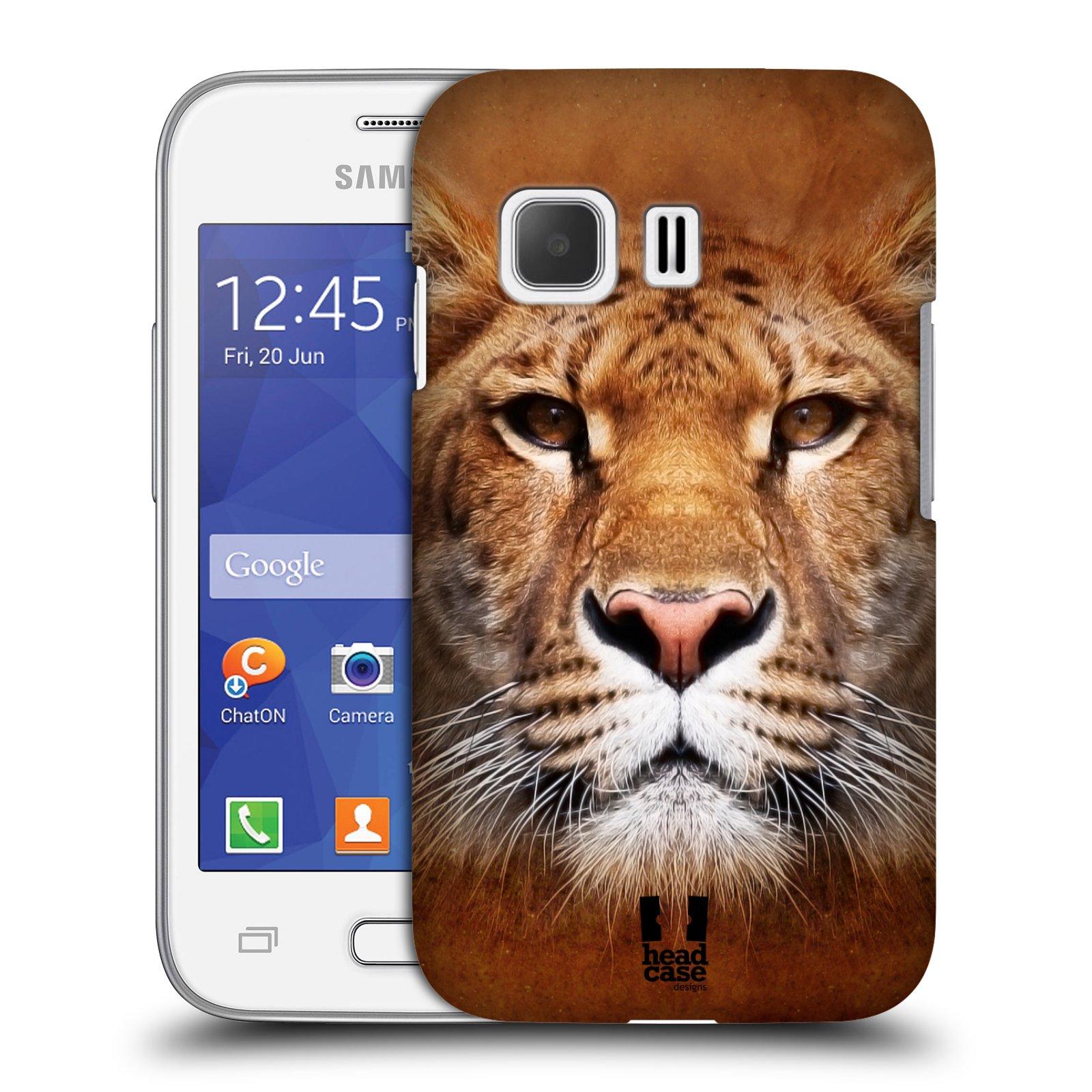 HEAD CASE plastový obal na mobil SAMSUNG Galaxy Young 2 (G130) vzor Zvířecí tváře Sibiřský tygr