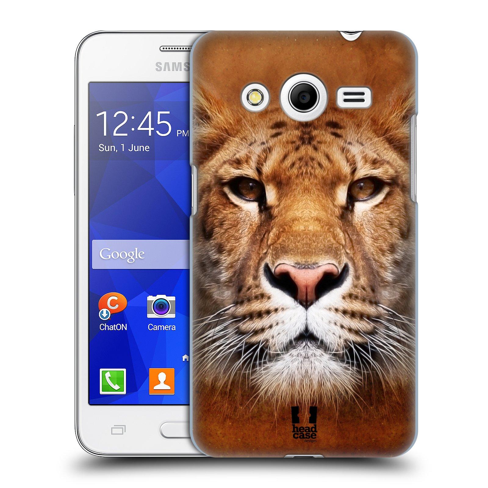 HEAD CASE plastový obal na mobil SAMSUNG GALAXY Core 2 (G355H) vzor Zvířecí tváře Sibiřský tygr