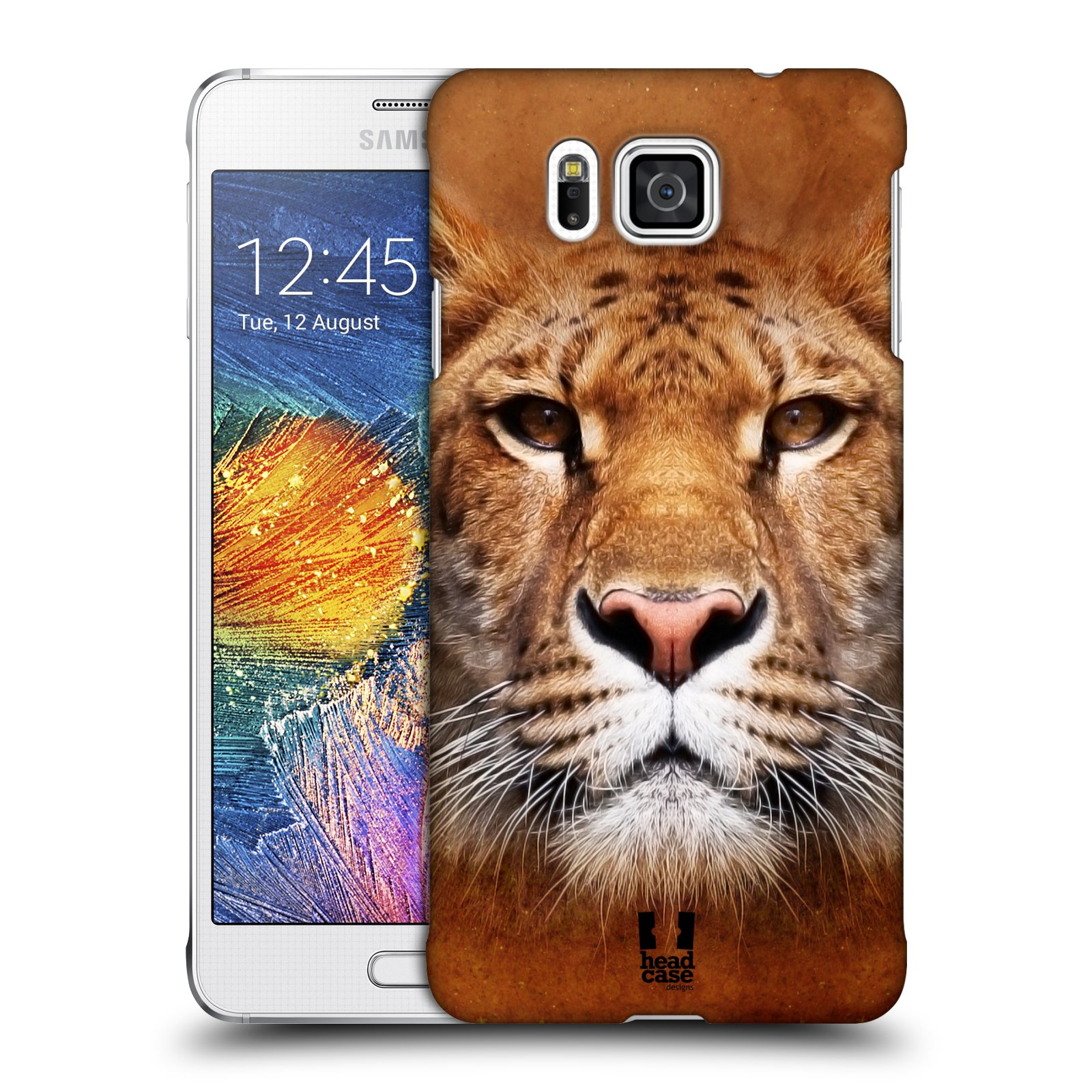 HEAD CASE plastový obal na mobil SAMSUNG Galaxy Alpha (G850) vzor Zvířecí tváře Sibiřský tygr