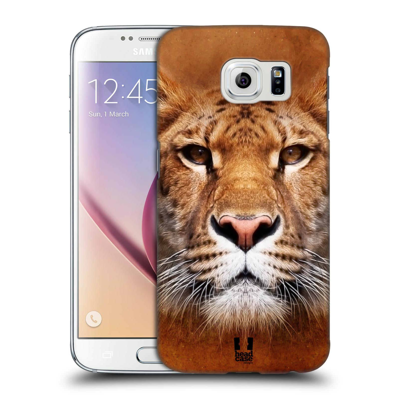 HEAD CASE plastový obal na mobil SAMSUNG Galaxy S6 (G9200, G920F) vzor Zvířecí tváře Sibiřský tygr