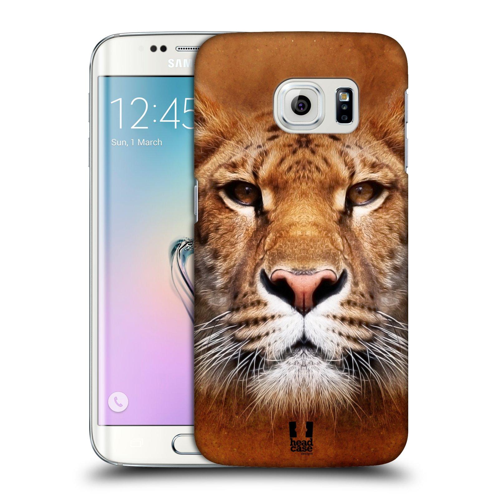 HEAD CASE plastový obal na mobil SAMSUNG Galaxy S6 EDGE (G9250, G925, G925F) vzor Zvířecí tváře Sibiřský tygr