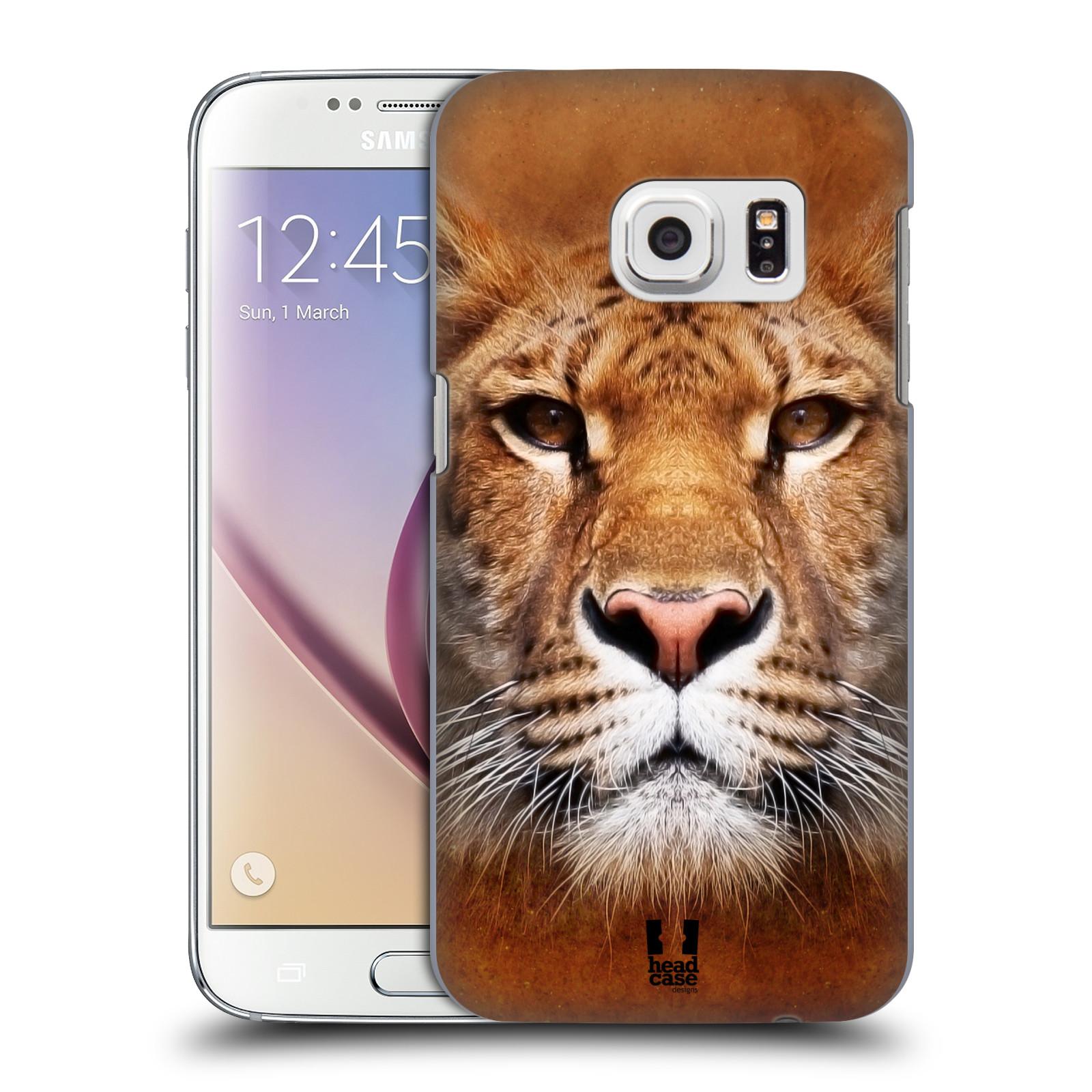 HEAD CASE plastový obal na mobil SAMSUNG GALAXY S7 vzor Zvířecí tváře Sibiřský tygr