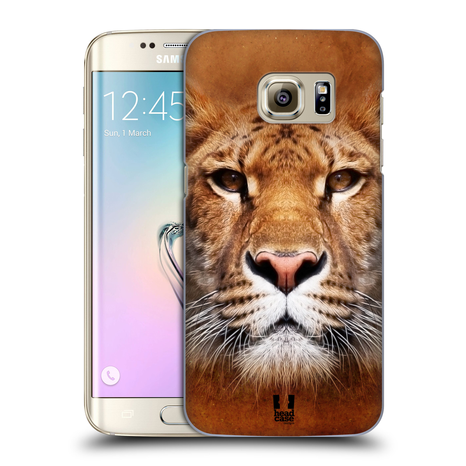 HEAD CASE plastový obal na mobil SAMSUNG GALAXY S7 EDGE vzor Zvířecí tváře Sibiřský tygr