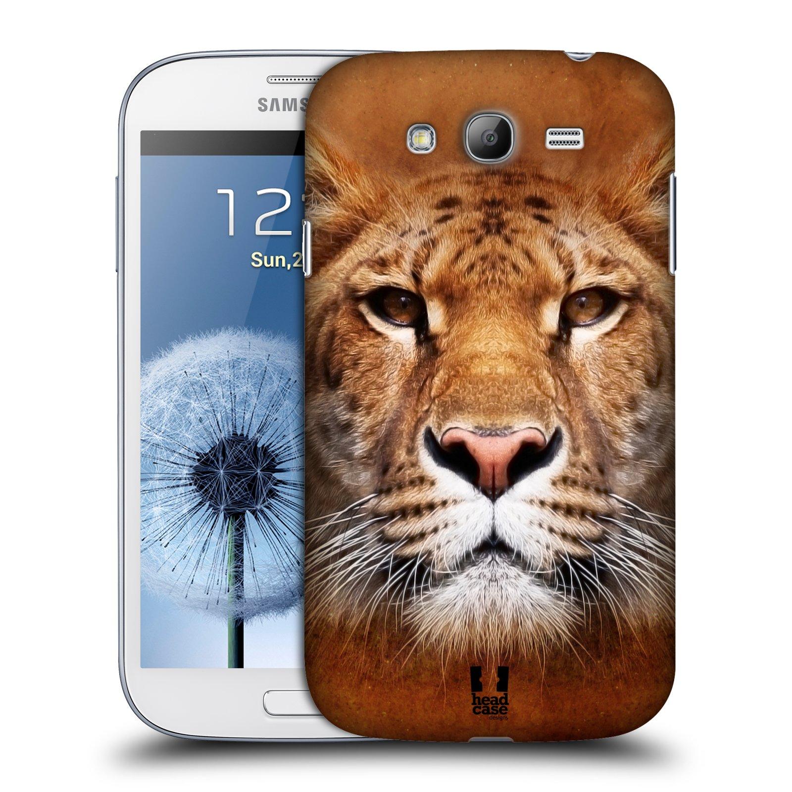 HEAD CASE plastový obal na mobil SAMSUNG GALAXY Grand i9080 vzor Zvířecí tváře Sibiřský tygr