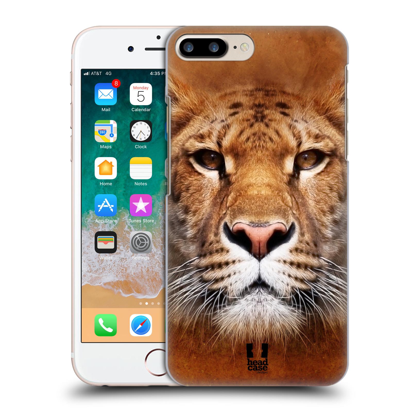 HEAD CASE plastový obal na mobil Apple Iphone 7 PLUS vzor Zvířecí tváře Sibiřský tygr