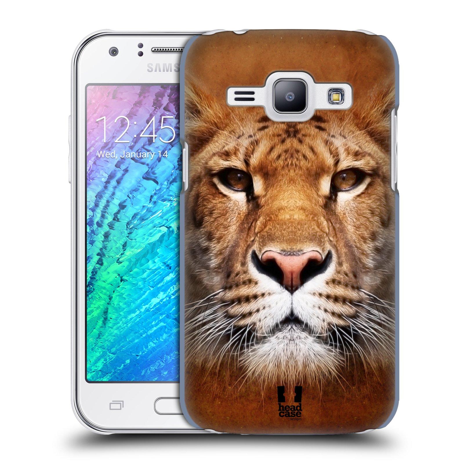 HEAD CASE plastový obal na mobil SAMSUNG Galaxy J1, J100 vzor Zvířecí tváře Sibiřský tygr
