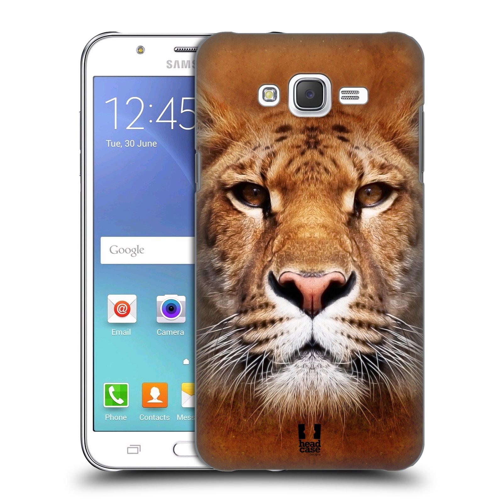 HEAD CASE plastový obal na mobil SAMSUNG Galaxy J7, J700 vzor Zvířecí tváře Sibiřský tygr