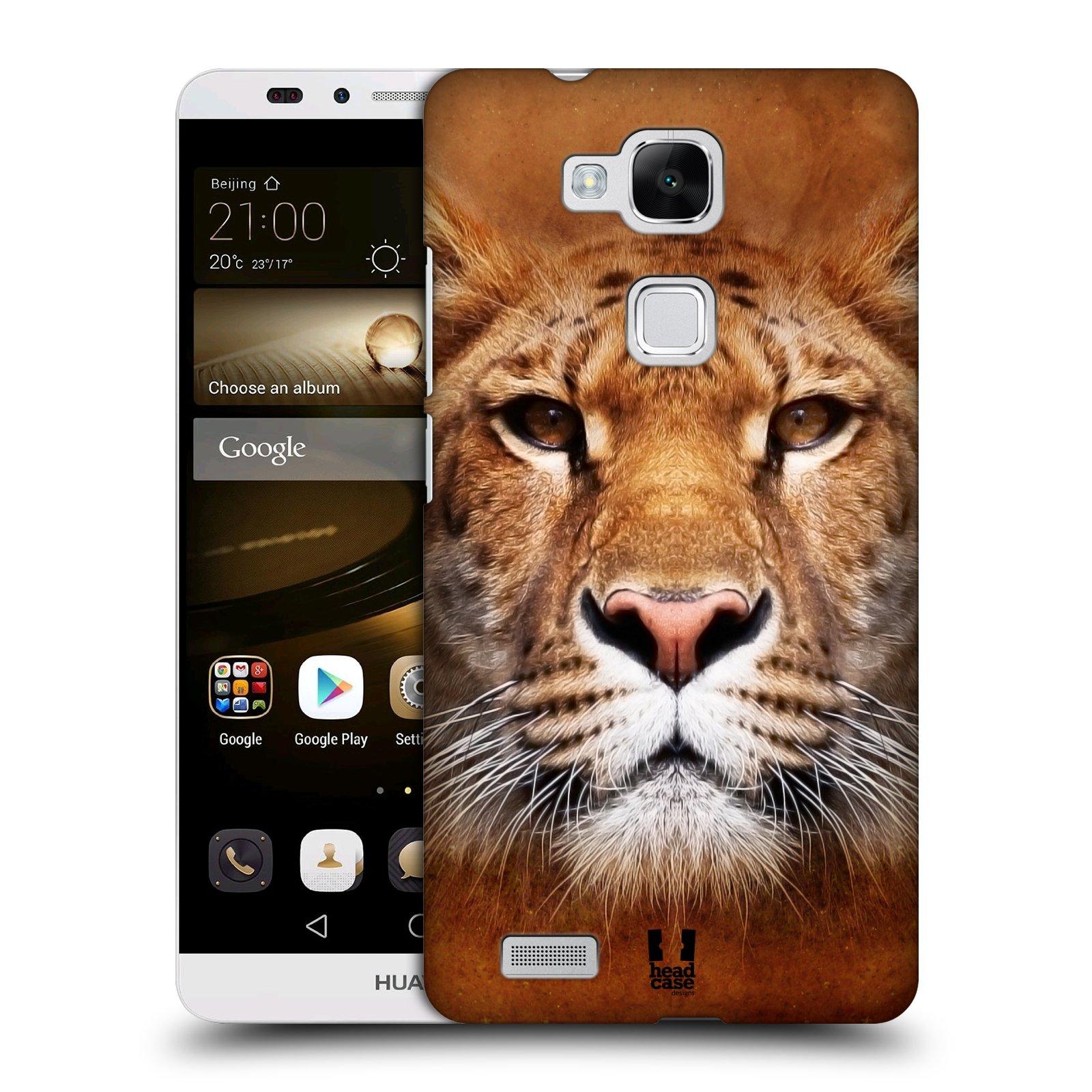 HEAD CASE plastový obal na mobil Huawei Mate 7 vzor Zvířecí tváře Sibiřský tygr