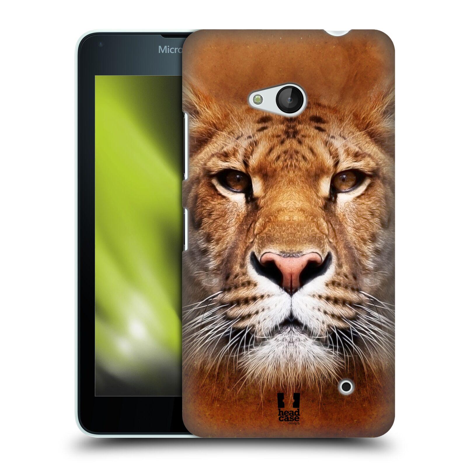 HEAD CASE plastový obal na mobil Nokia Lumia 640 vzor Zvířecí tváře Sibiřský tygr