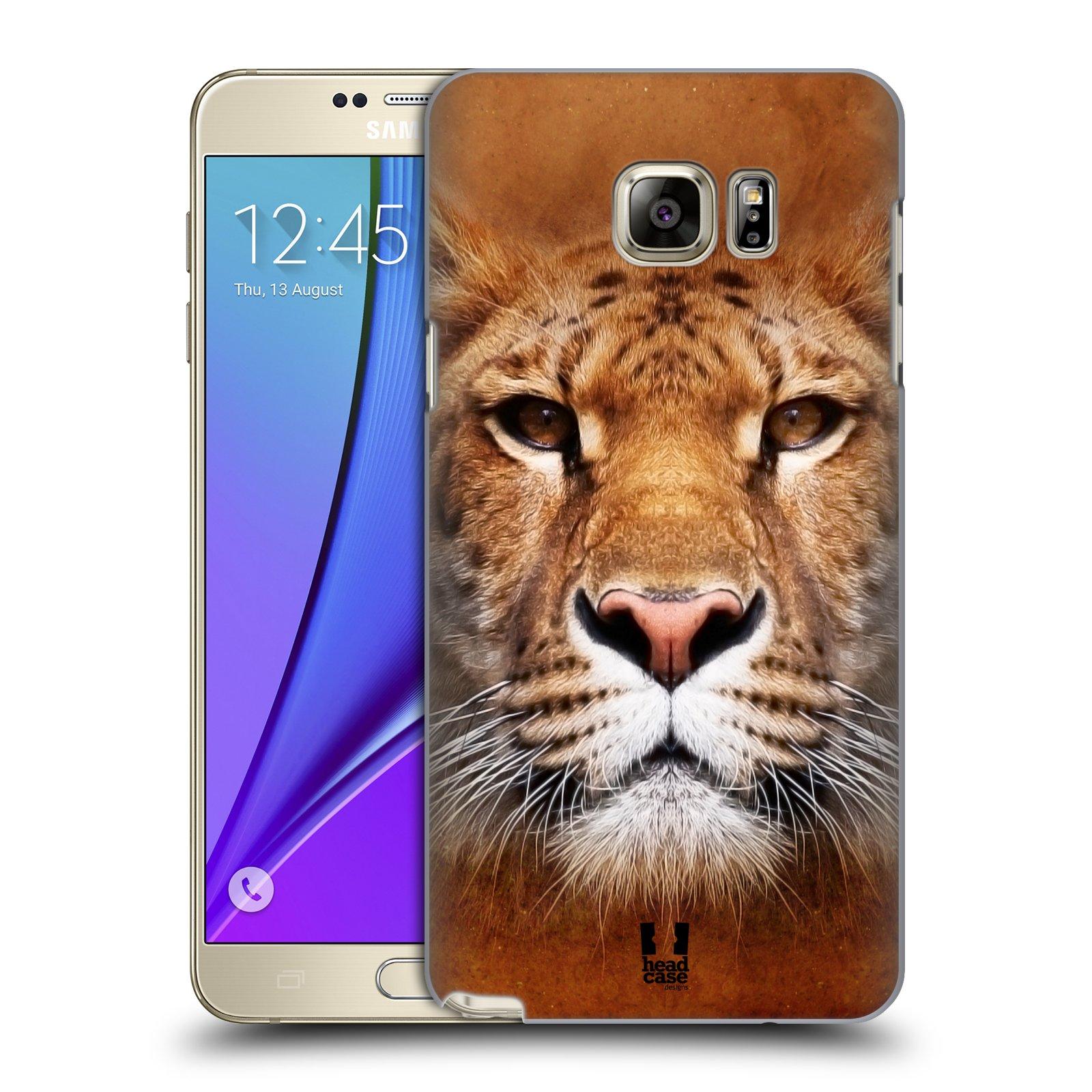 HEAD CASE plastový obal na mobil SAMSUNG Galaxy Note 5 (N920) vzor Zvířecí tváře Sibiřský tygr
