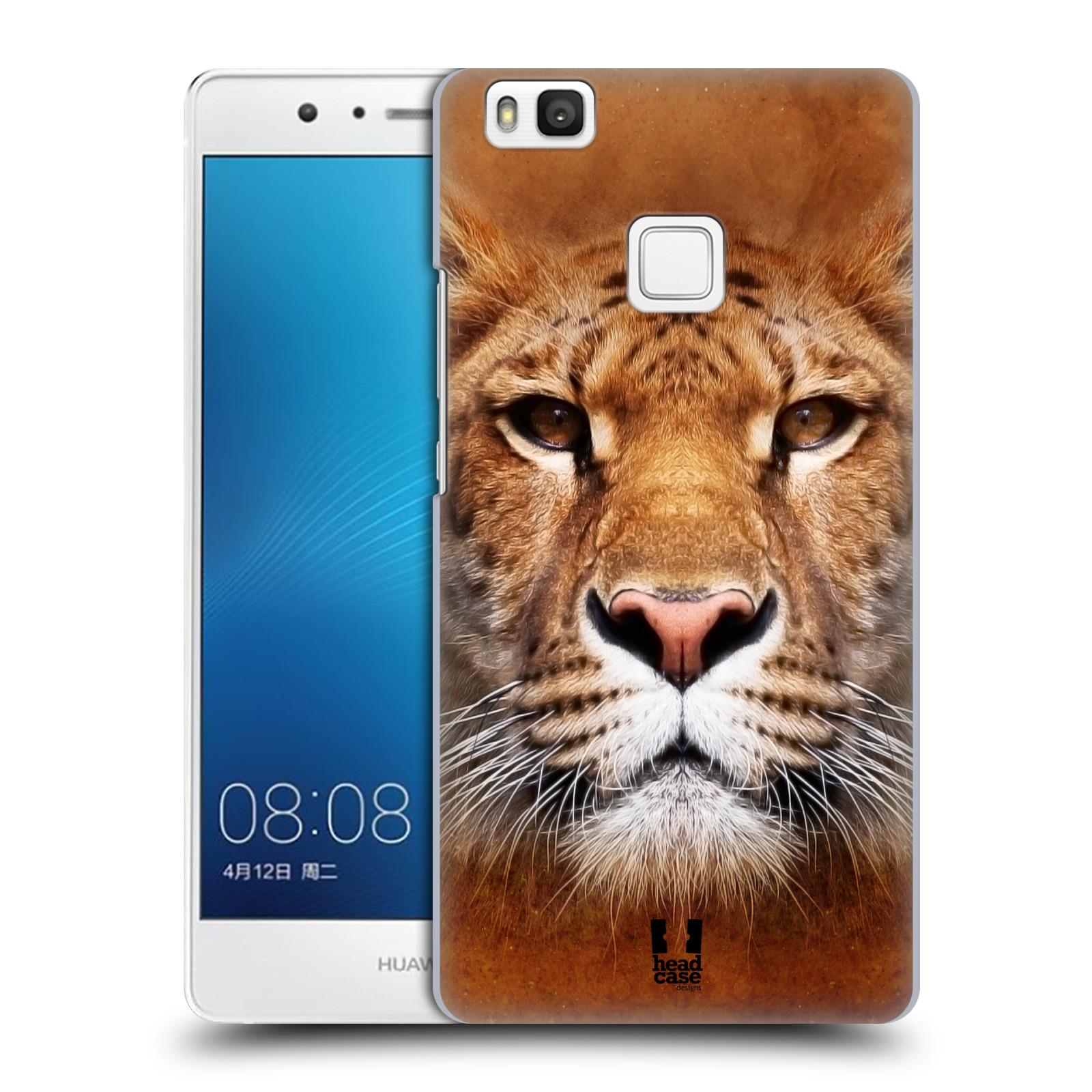 HEAD CASE plastový obal na mobil Huawei P9 LITE / P9 LITE DUAL SIM vzor Zvířecí tváře Sibiřský tygr