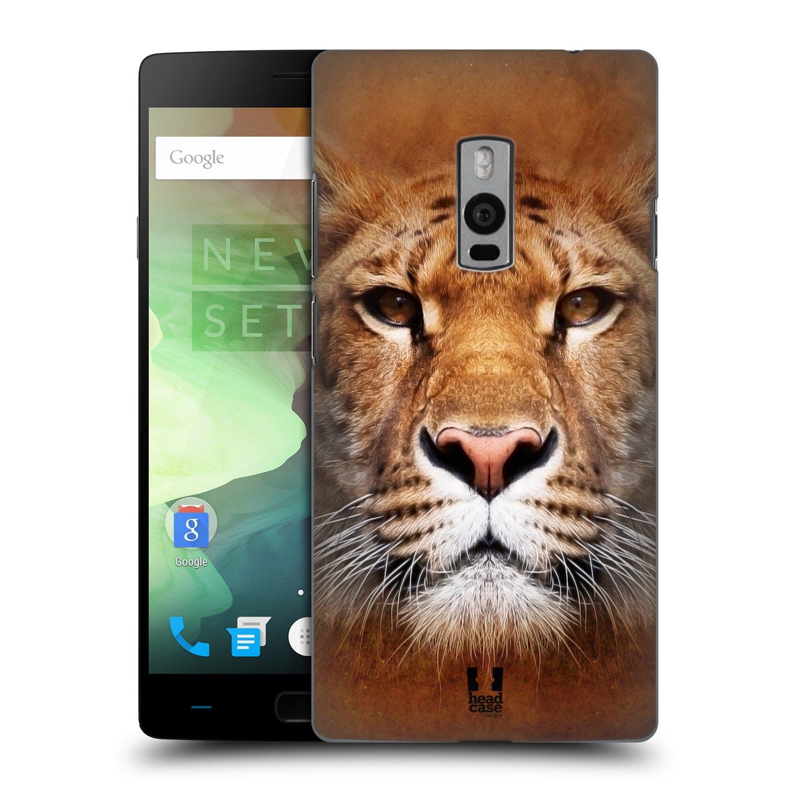 HEAD CASE pevný plastový obal na mobil OnePlus 2  ( TWO ) vzor Zvířecí tváře Sibiřský tygr