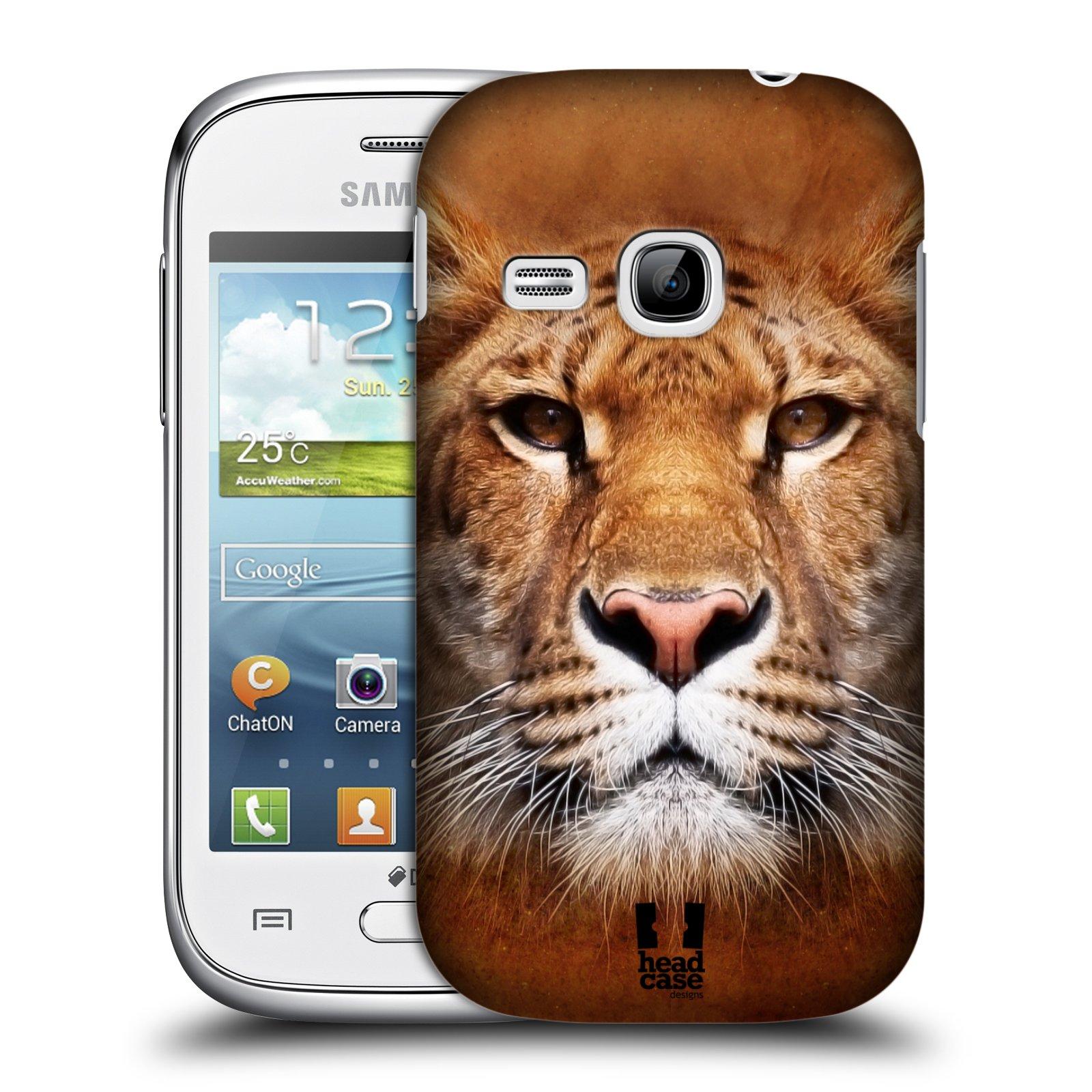 HEAD CASE plastový obal na mobil SAMSUNG Galaxy Young S6310 vzor Zvířecí tváře Sibiřský tygr