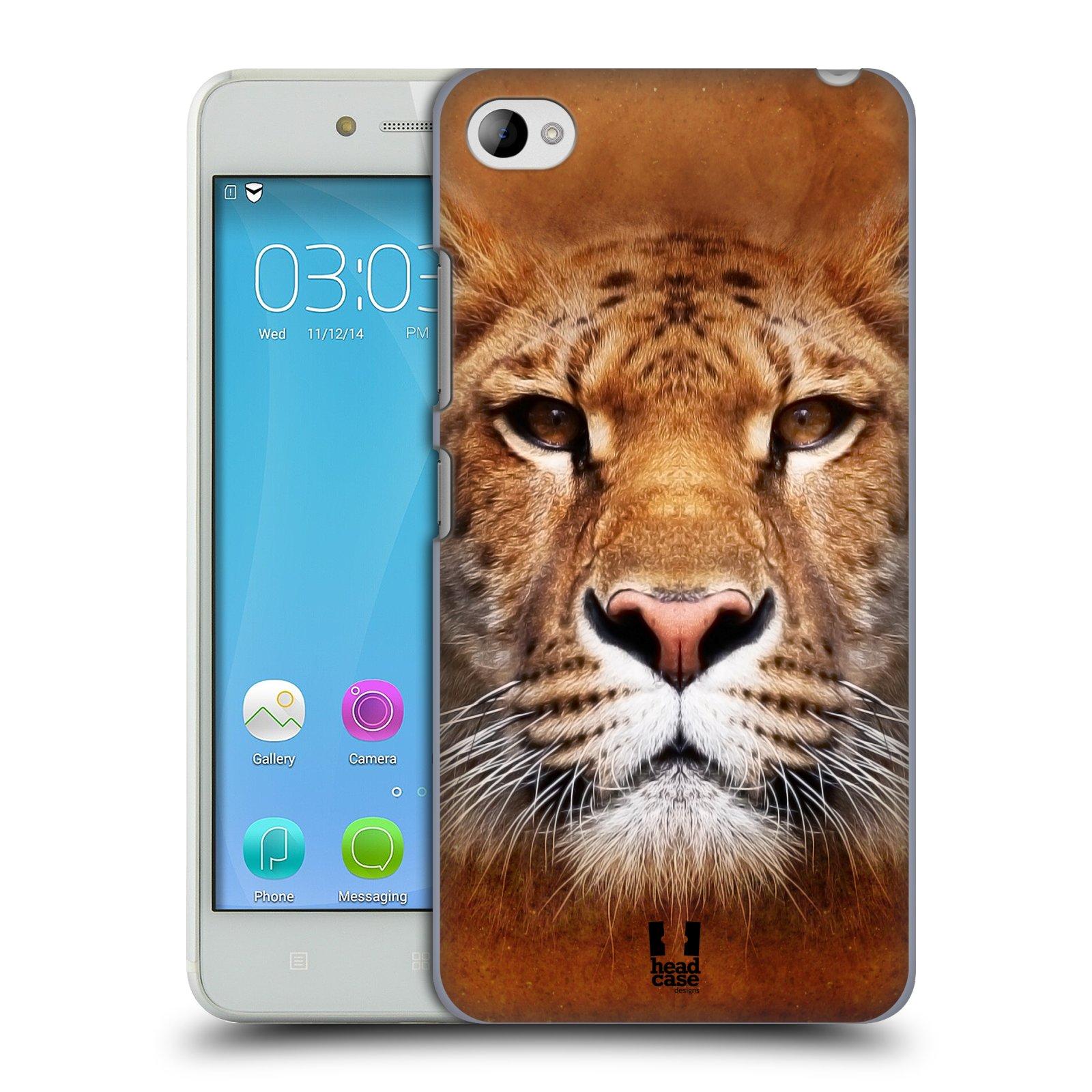 HEAD CASE pevný plastový obal na mobil LENOVO S90 vzor Zvířecí tváře Sibiřský tygr