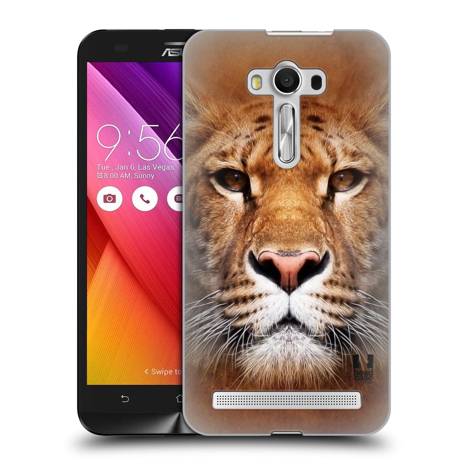 HEAD CASE plastový obal na mobil Asus Zenfone 2 LASER (5,5 displej ZE550KL) vzor Zvířecí tváře Sibiřský tygr