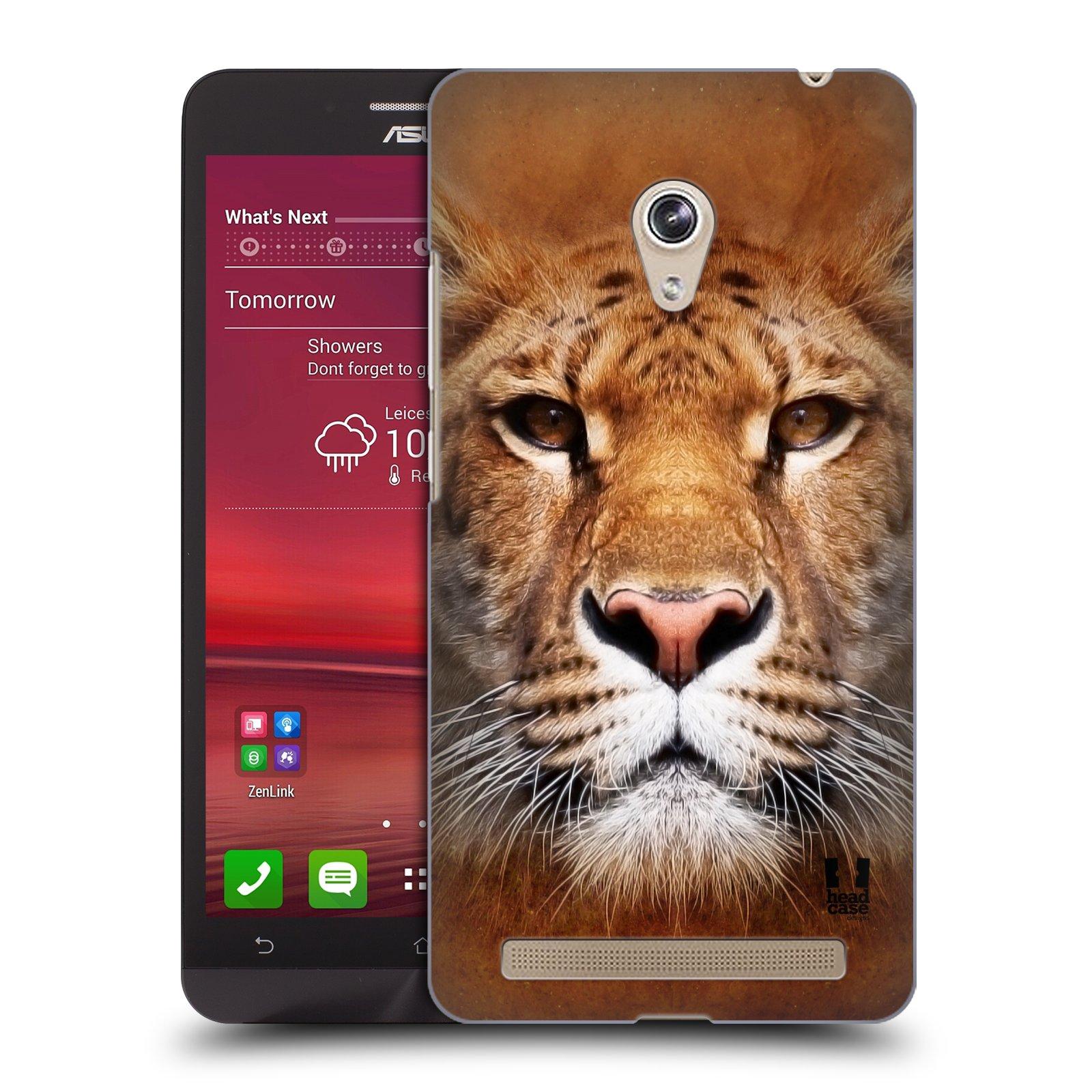 HEAD CASE plastový obal na mobil Asus Zenfone 6 vzor Zvířecí tváře Sibiřský tygr