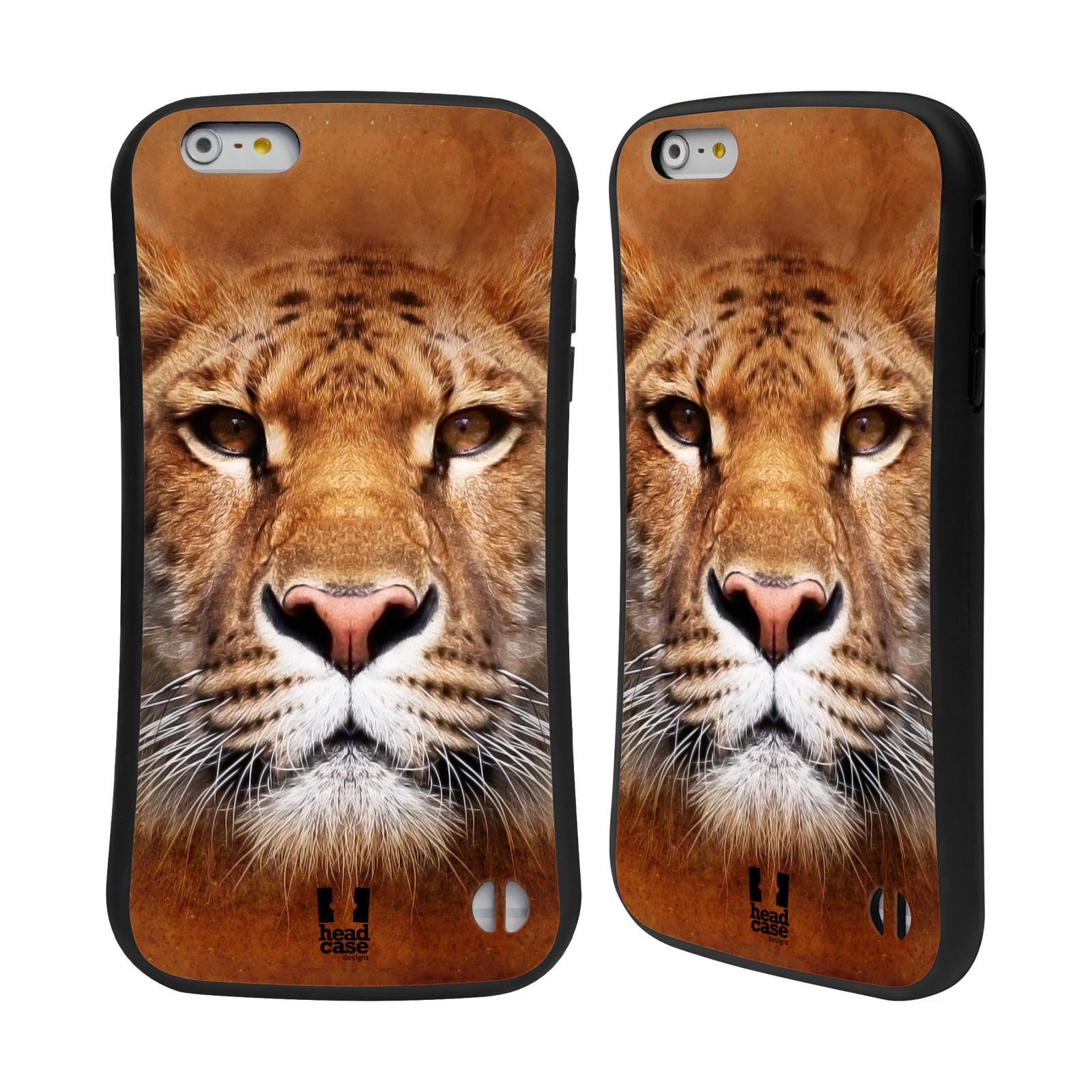 HEAD CASE silikon/plast odolný obal na mobil Apple Iphone 6 PLUS / 6S PLUS vzor Zvířecí tváře Sibiřský tygr