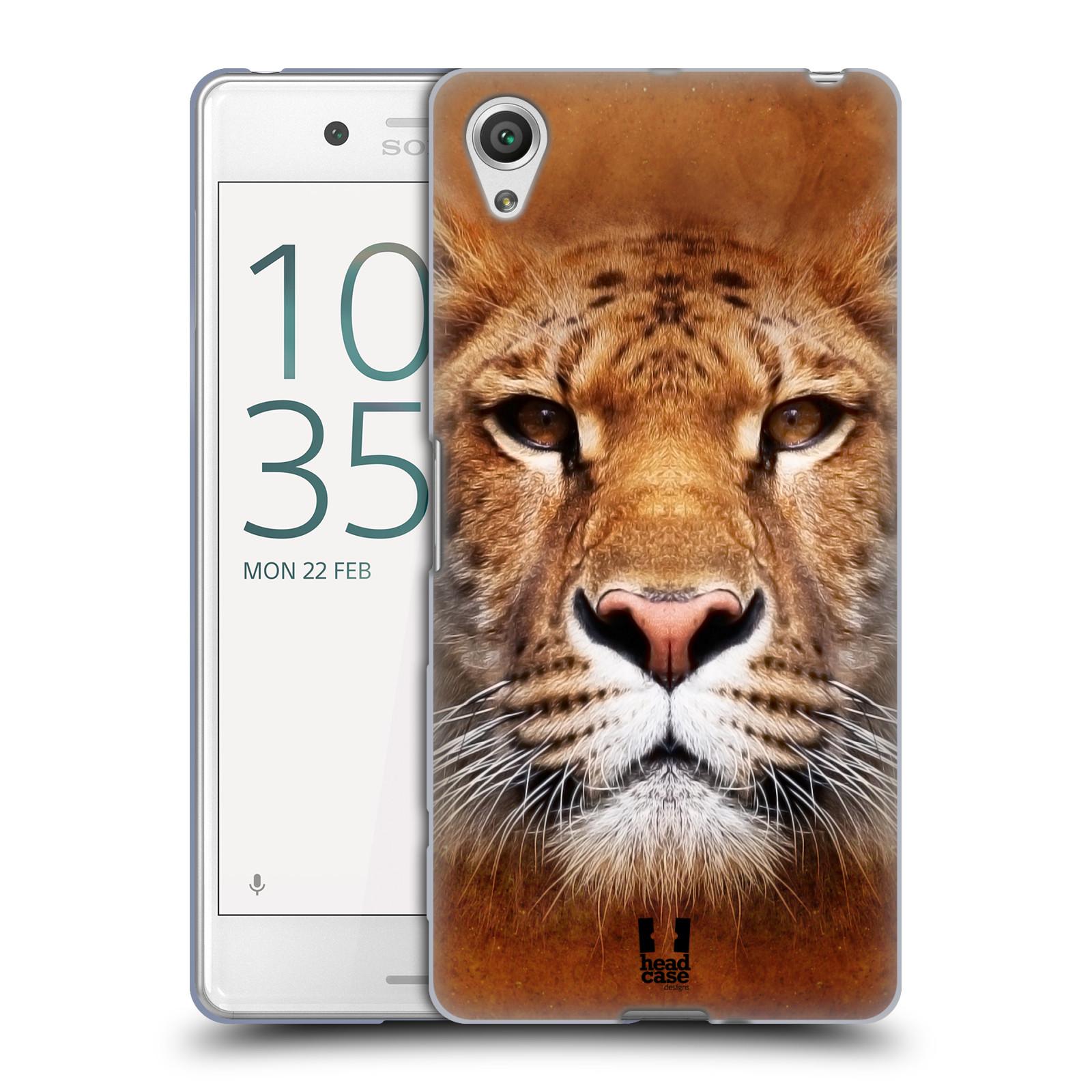HEAD CASE silikonový obal na mobil Sony Xperia X PERFORMANCE (F8131, F8132) vzor Zvířecí tváře Sibiřský tygr