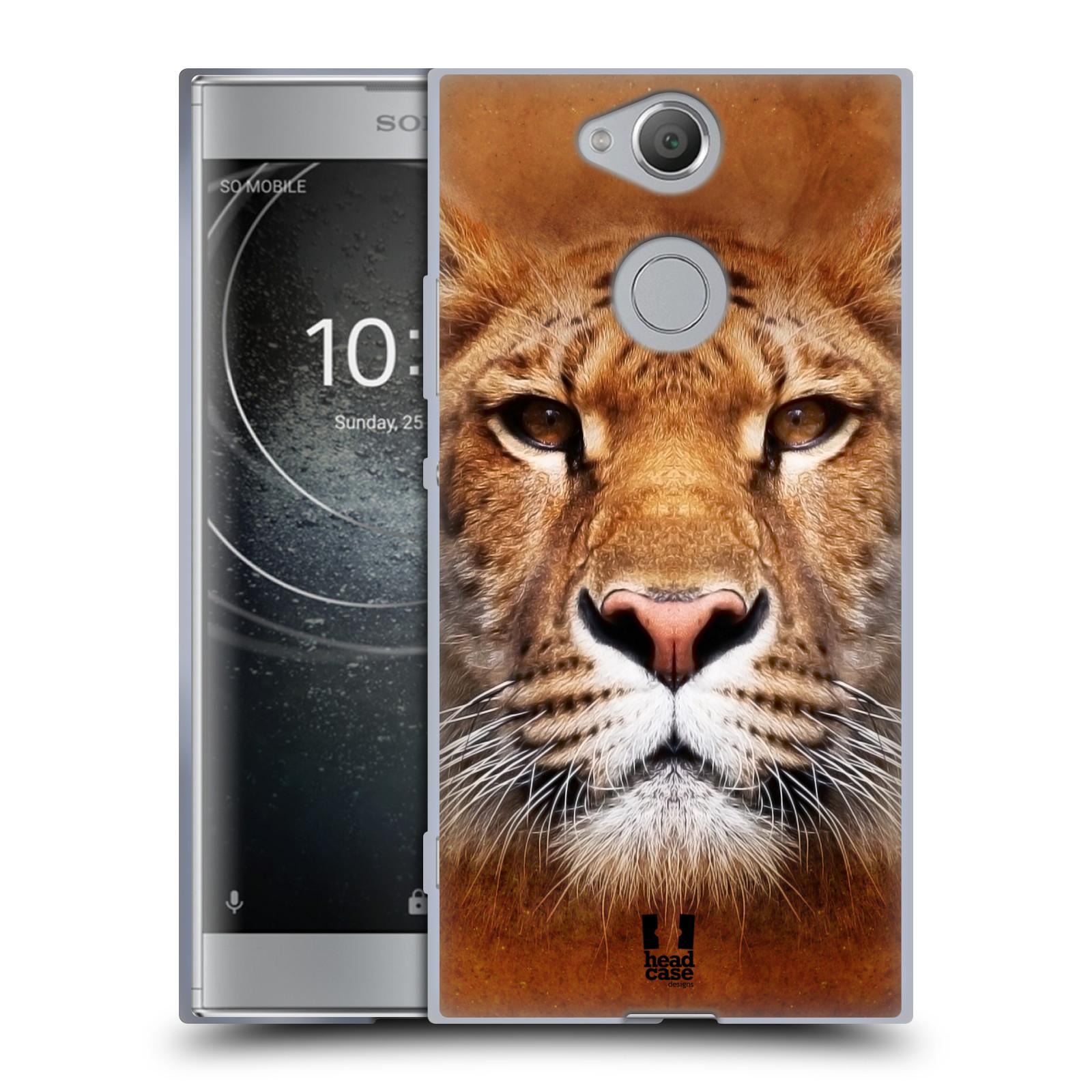 Pouzdro na mobil Sony Xperia XA2 (DUAL SIM, SINGLE SIM) vzor Zvířecí tváře Sibiřský tygr