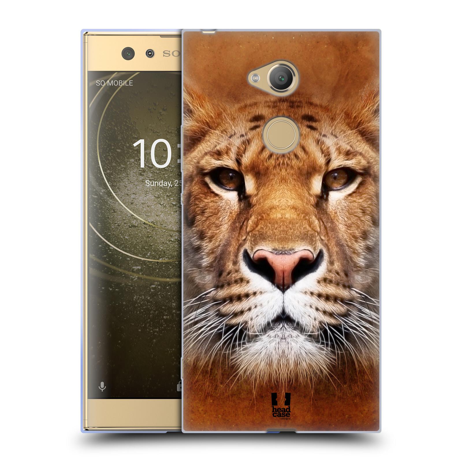 Pouzdro na mobil Sony Xperia XA2 Ultra vzor Zvířecí tváře Sibiřský tygr