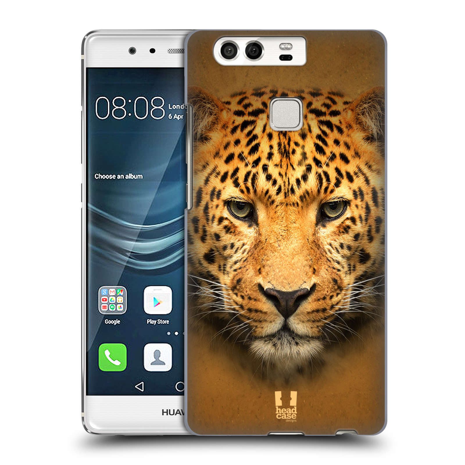 HEAD CASE plastový obal na mobil Huawei P9 / P9 DUAL SIM vzor Zvířecí tváře 2 leopard