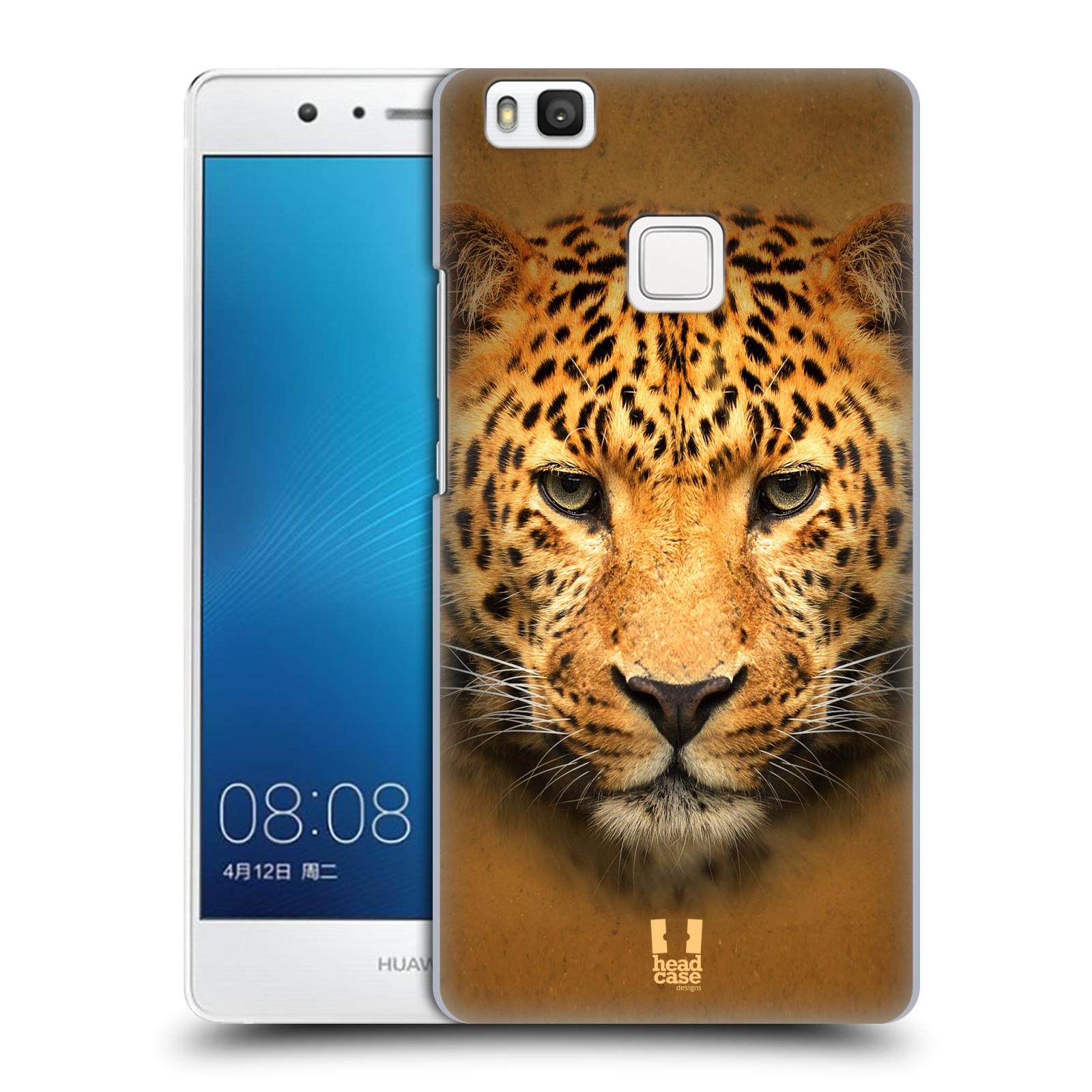HEAD CASE plastový obal na mobil Huawei P9 LITE / P9 LITE DUAL SIM vzor Zvířecí tváře 2 leopard