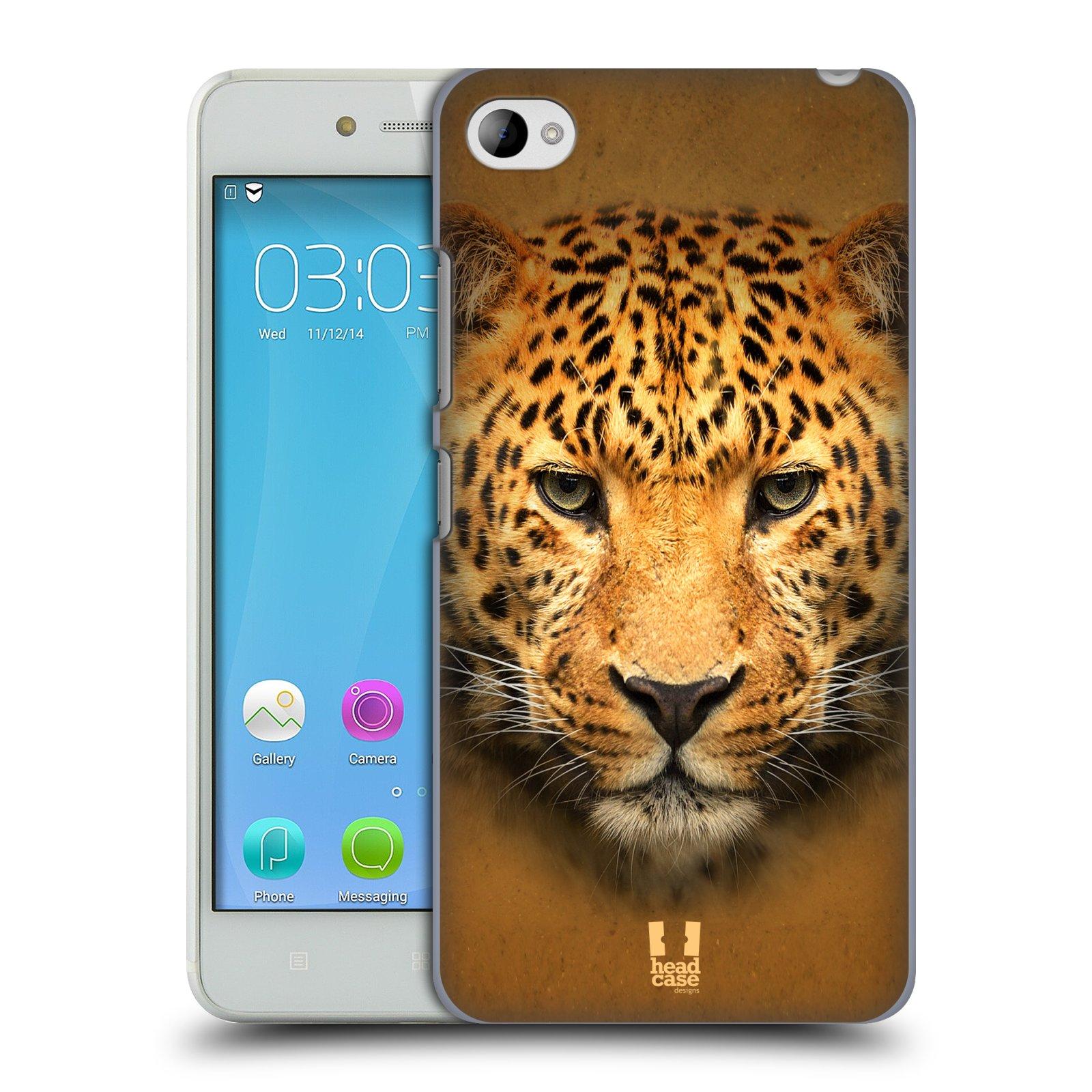 HEAD CASE pevný plastový obal na mobil LENOVO S90 vzor Zvířecí tváře 2 leopard