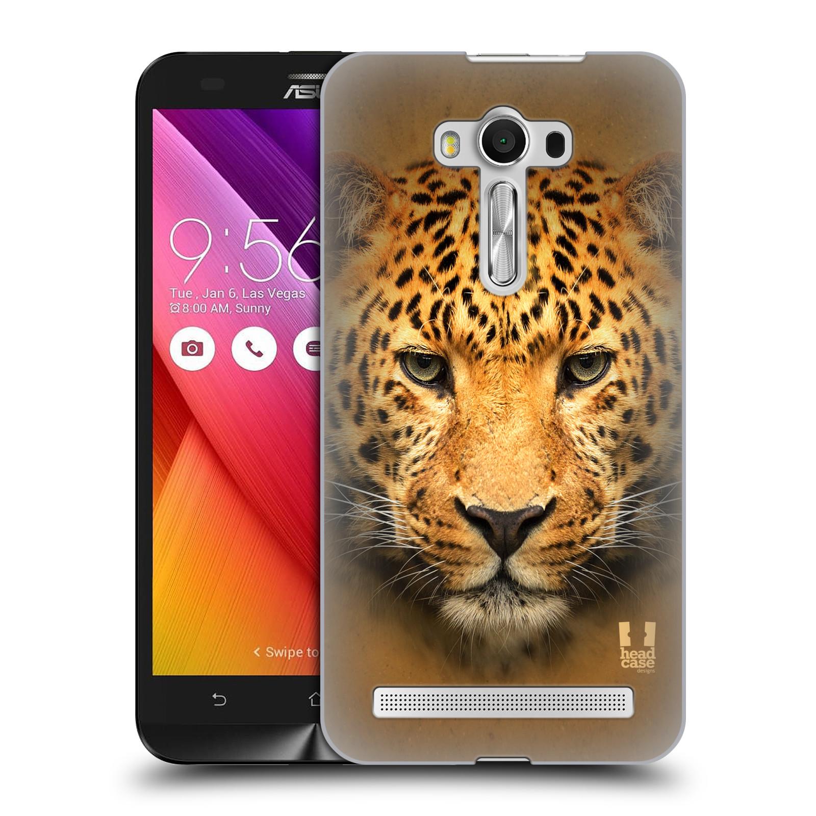 HEAD CASE plastový obal na mobil Asus Zenfone 2 LASER (5,5 displej ZE550KL) vzor Zvířecí tváře 2 leopard