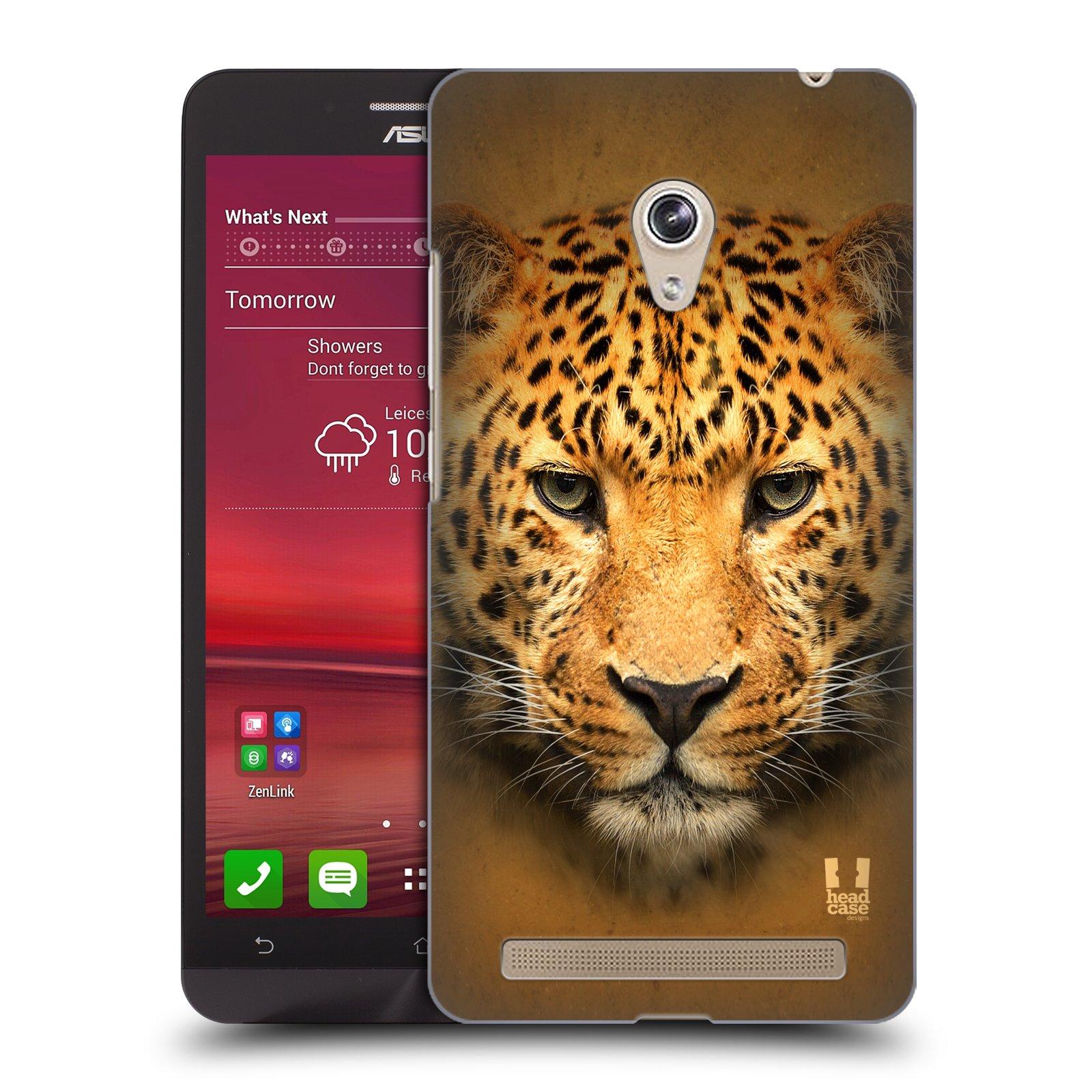 HEAD CASE plastový obal na mobil Asus Zenfone 6 vzor Zvířecí tváře 2 leopard