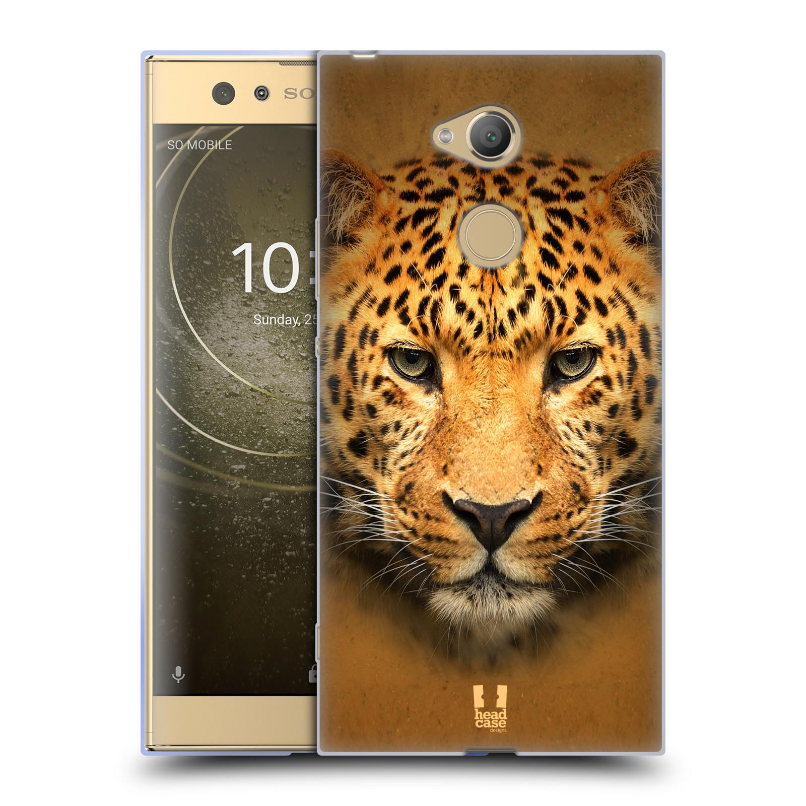 Pouzdro na mobil Sony Xperia XA2 Ultra vzor Zvířecí tváře 2 leopard