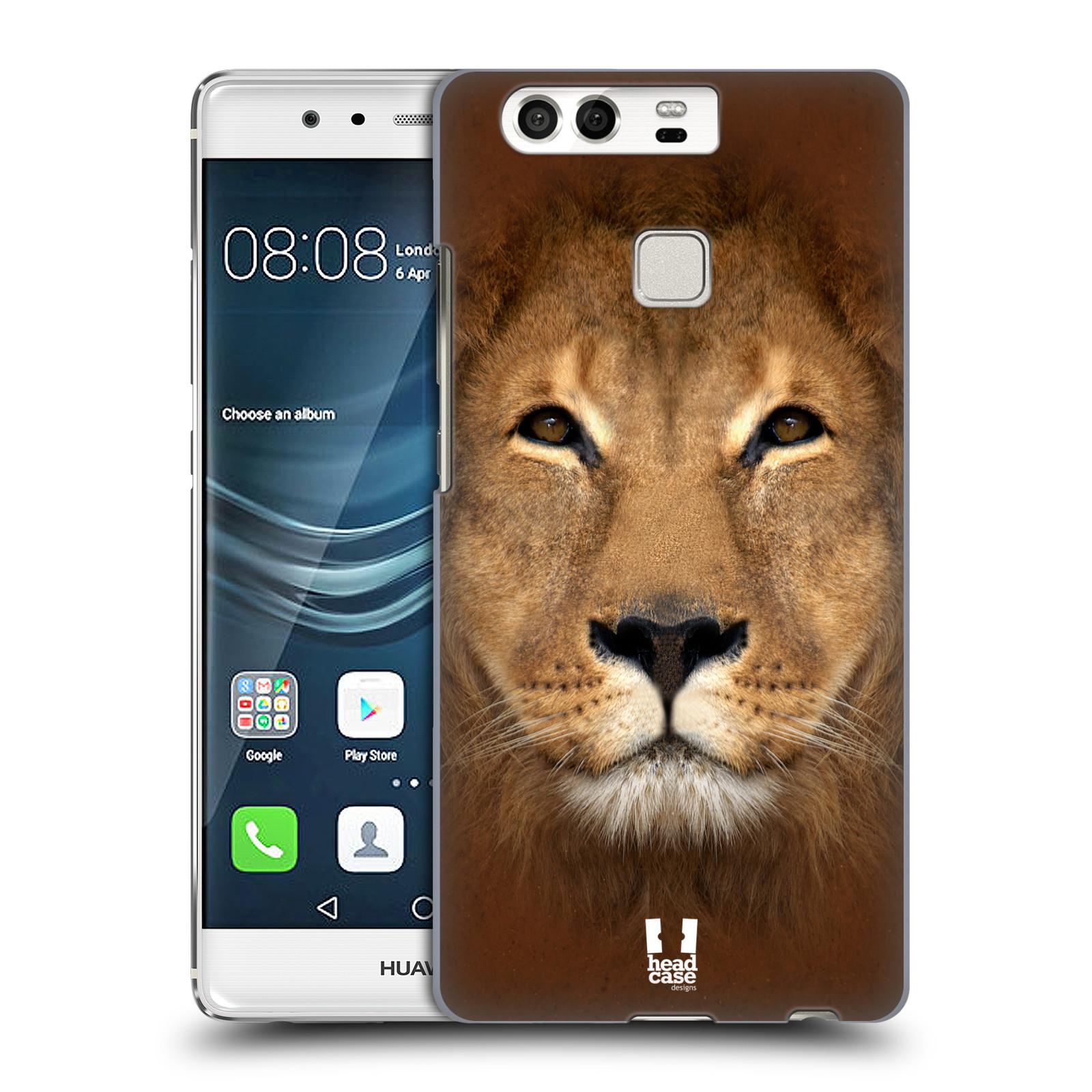 HEAD CASE plastový obal na mobil Huawei P9 / P9 DUAL SIM vzor Zvířecí tváře 2 Lev