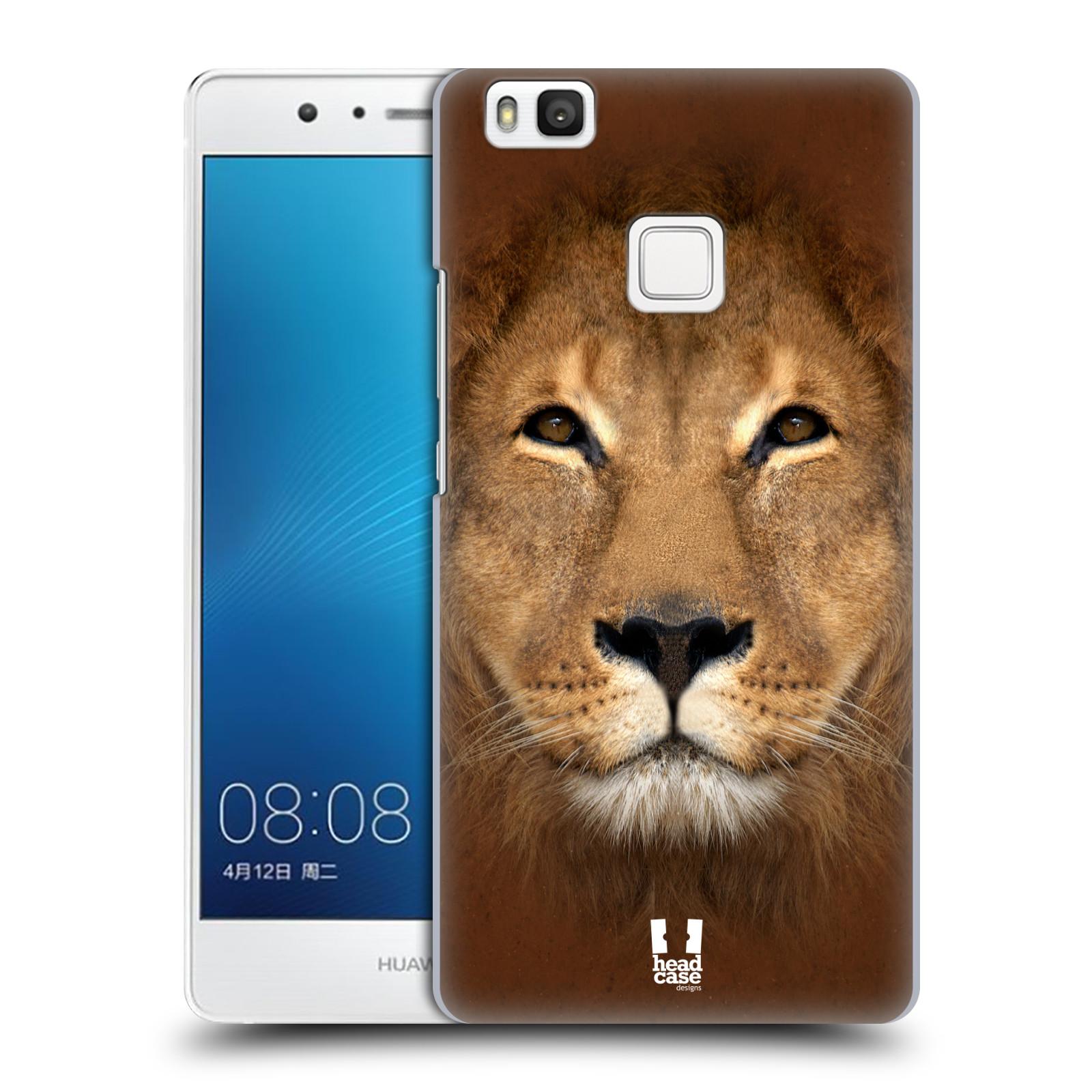 HEAD CASE plastový obal na mobil Huawei P9 LITE / P9 LITE DUAL SIM vzor Zvířecí tváře 2 Lev