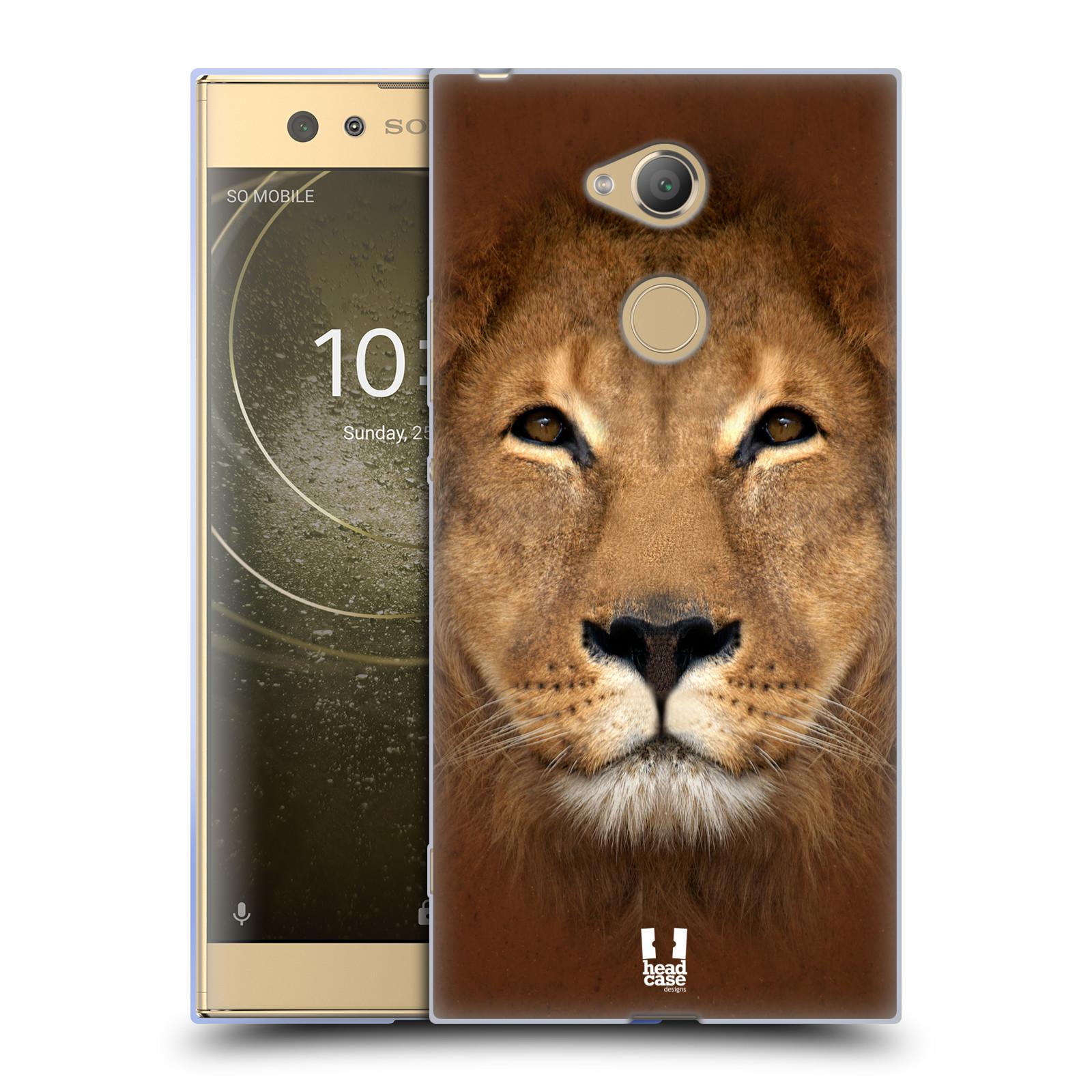 Pouzdro na mobil Sony Xperia XA2 Ultra vzor Zvířecí tváře 2 Lev