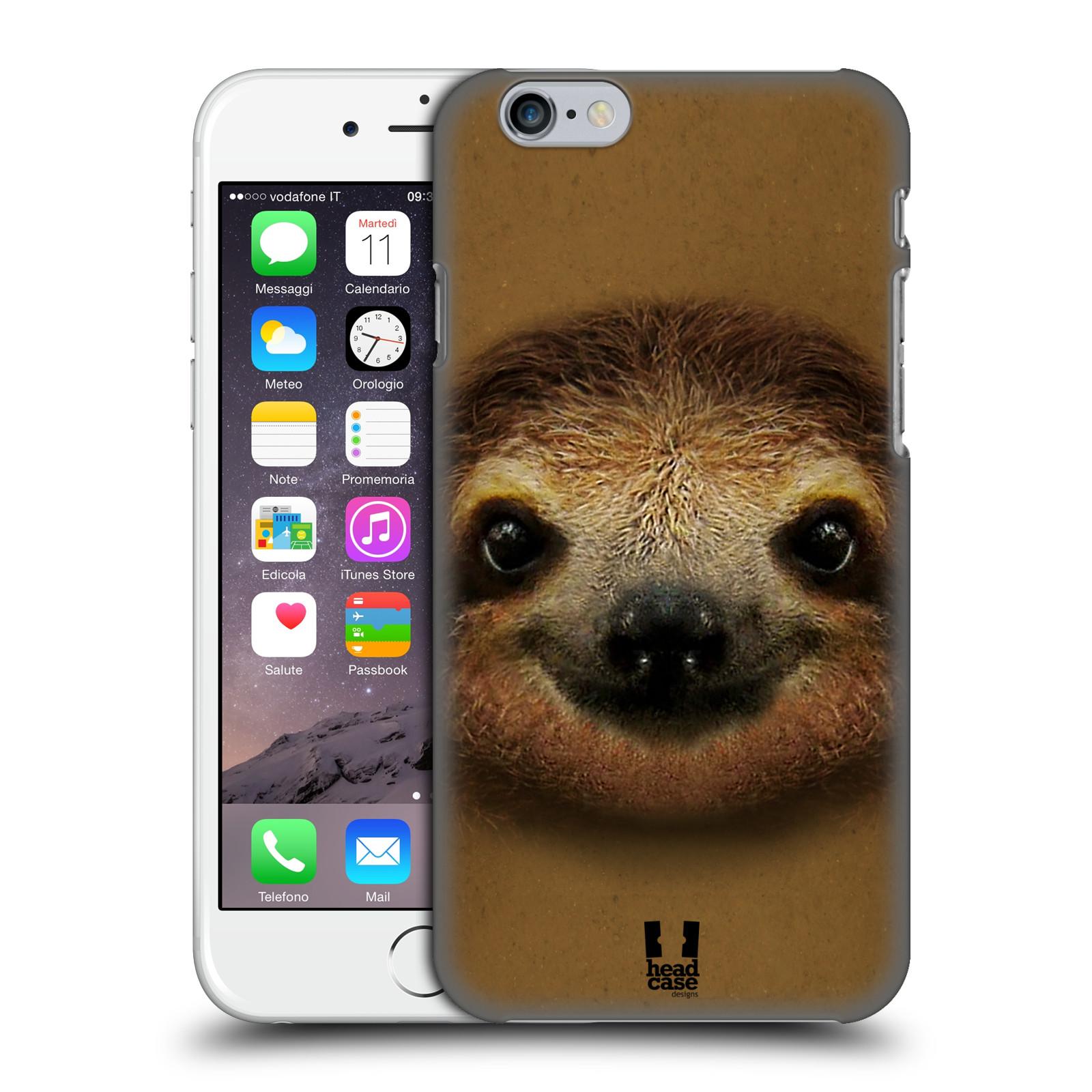 Plastové pouzdro pro mobil Apple Iphone 6/6S vzor Zvířecí tváře 2 lenochod