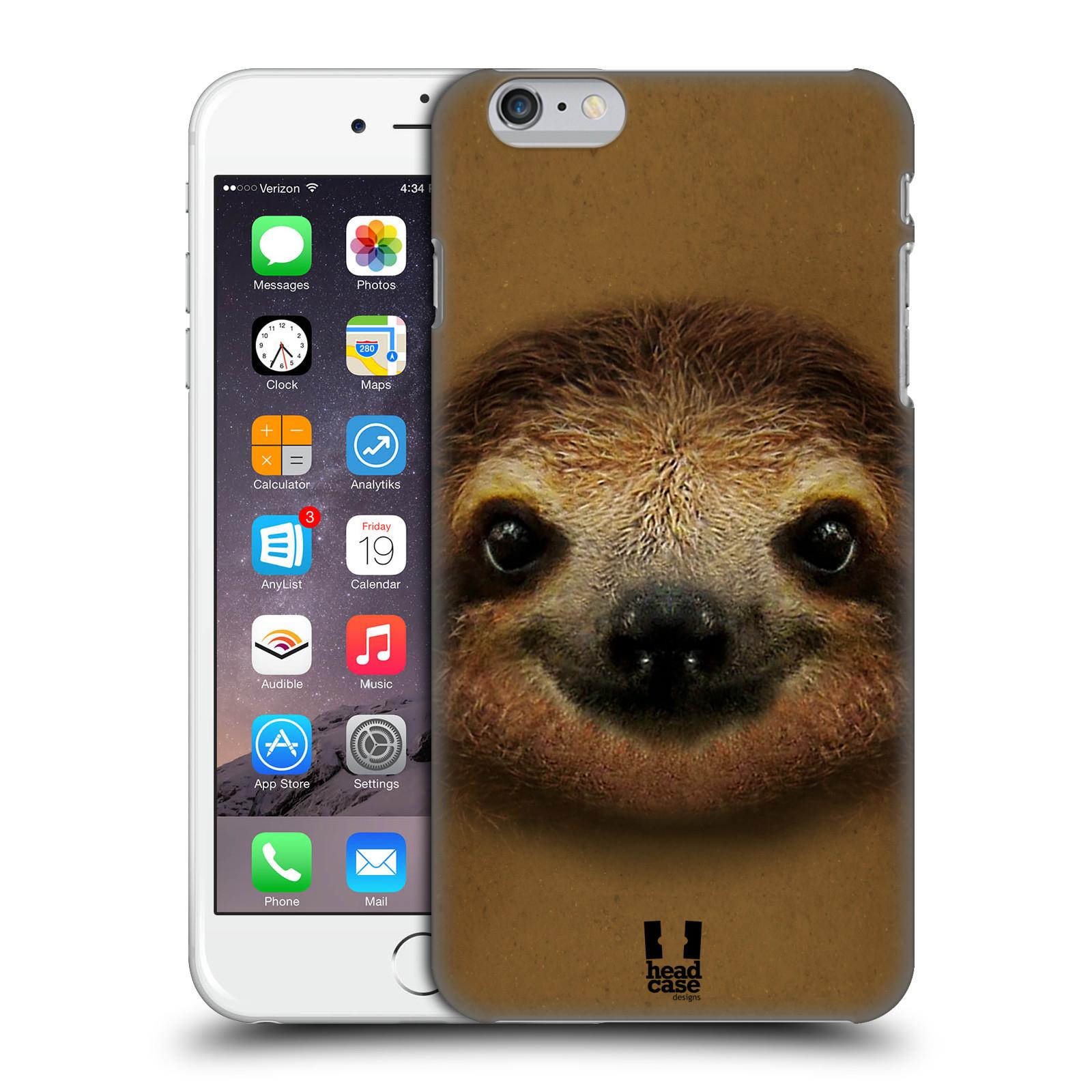 Plastové pouzdro pro mobil Apple Iphone 6 PLUS / 6S PLUS vzor Zvířecí tváře 2 lenochod
