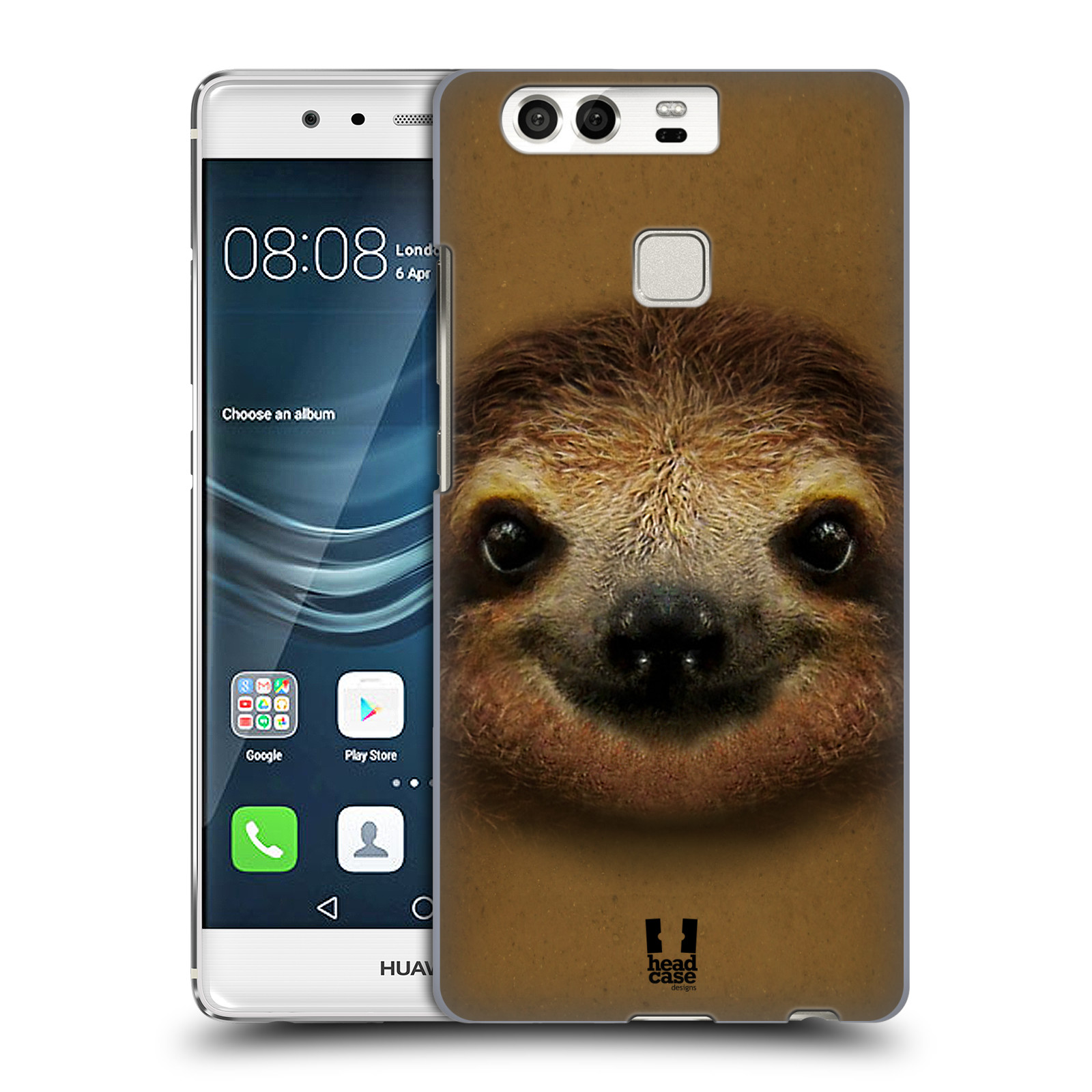 HEAD CASE plastový obal na mobil Huawei P9 / P9 DUAL SIM vzor Zvířecí tváře 2 lenochod