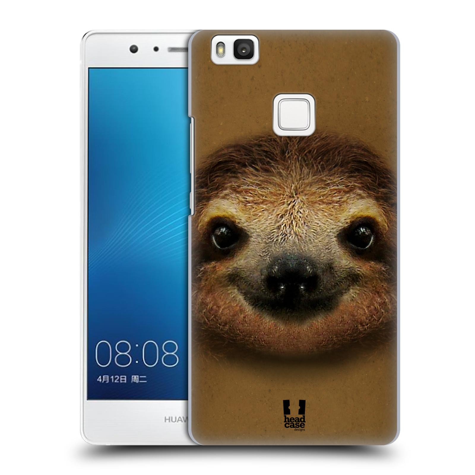 HEAD CASE plastový obal na mobil Huawei P9 LITE / P9 LITE DUAL SIM vzor Zvířecí tváře 2 lenochod