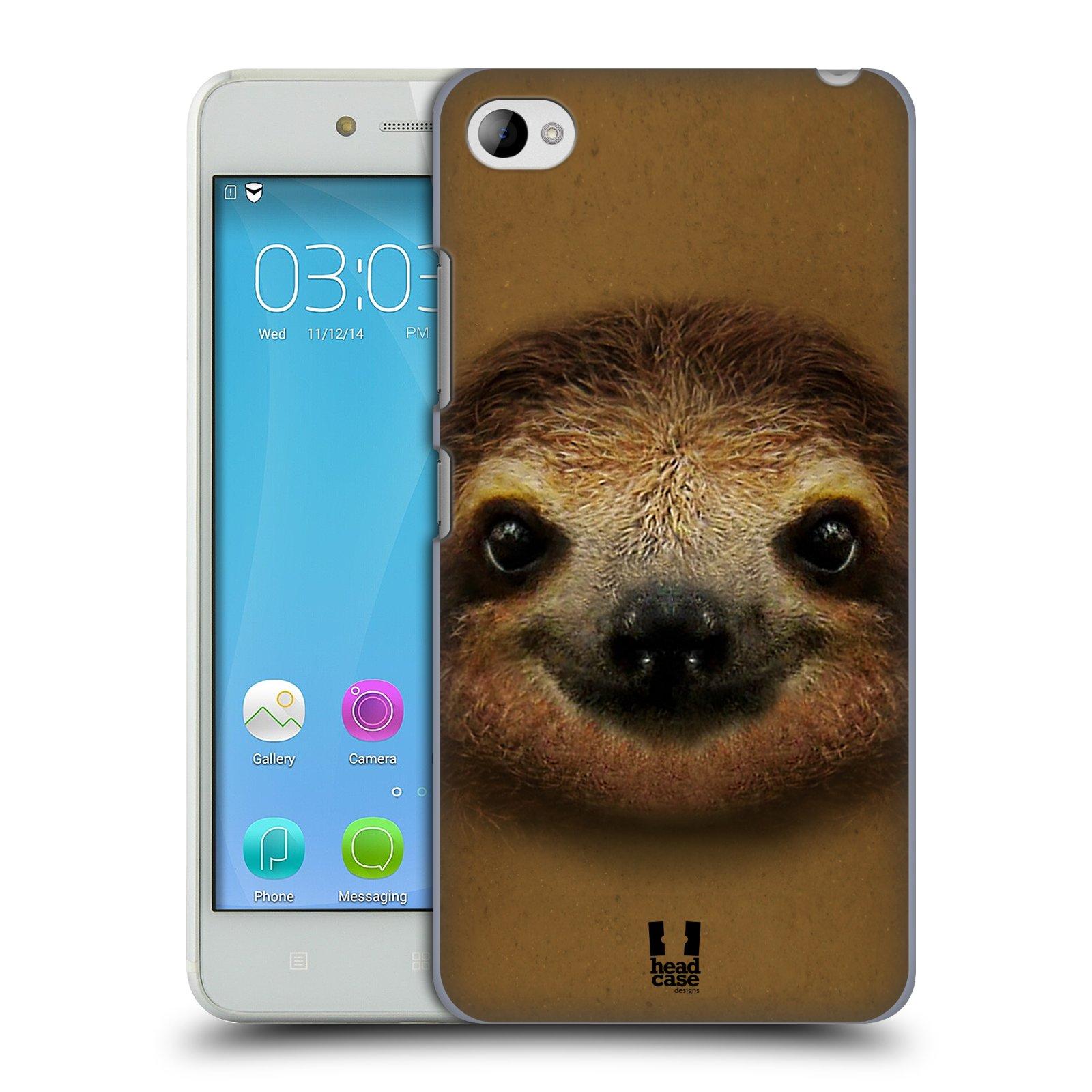 HEAD CASE pevný plastový obal na mobil LENOVO S90 vzor Zvířecí tváře 2 lenochod