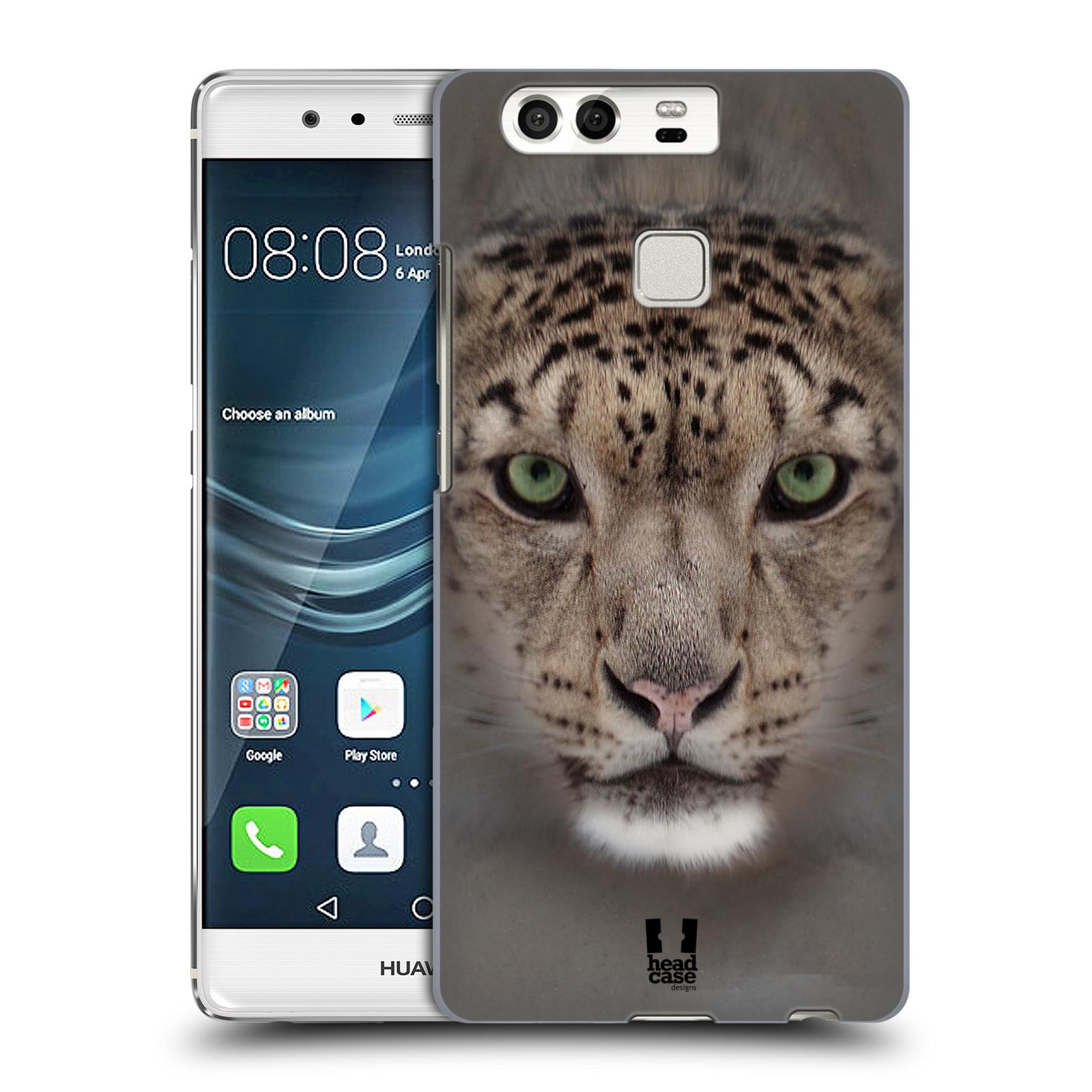 HEAD CASE plastový obal na mobil Huawei P9 / P9 DUAL SIM vzor Zvířecí tváře 2 sněžný leopard