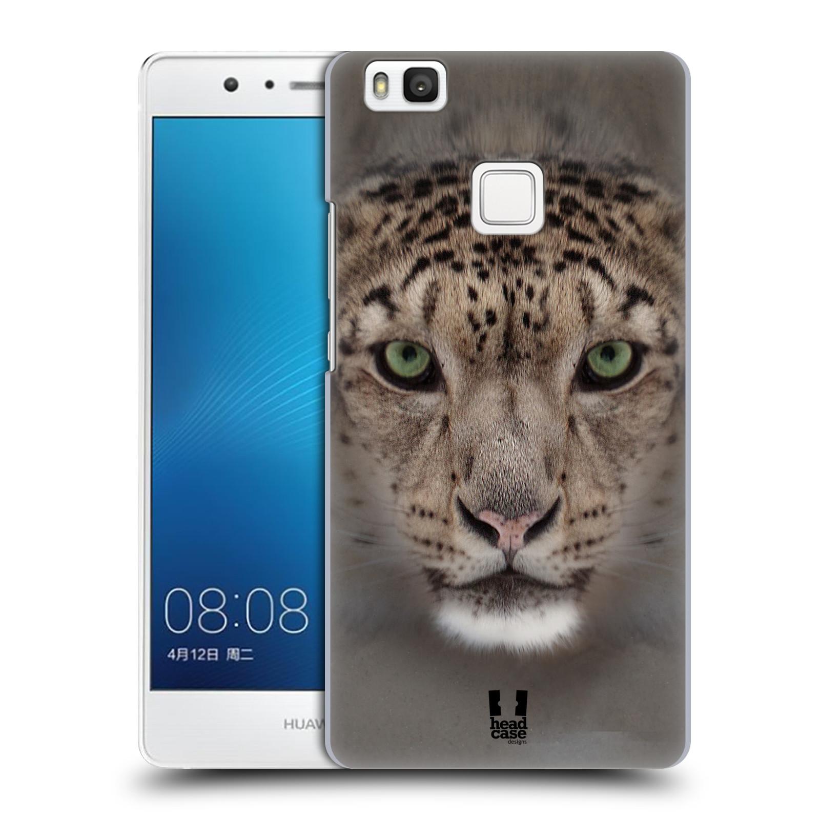 HEAD CASE plastový obal na mobil Huawei P9 LITE / P9 LITE DUAL SIM vzor Zvířecí tváře 2 sněžný leopard
