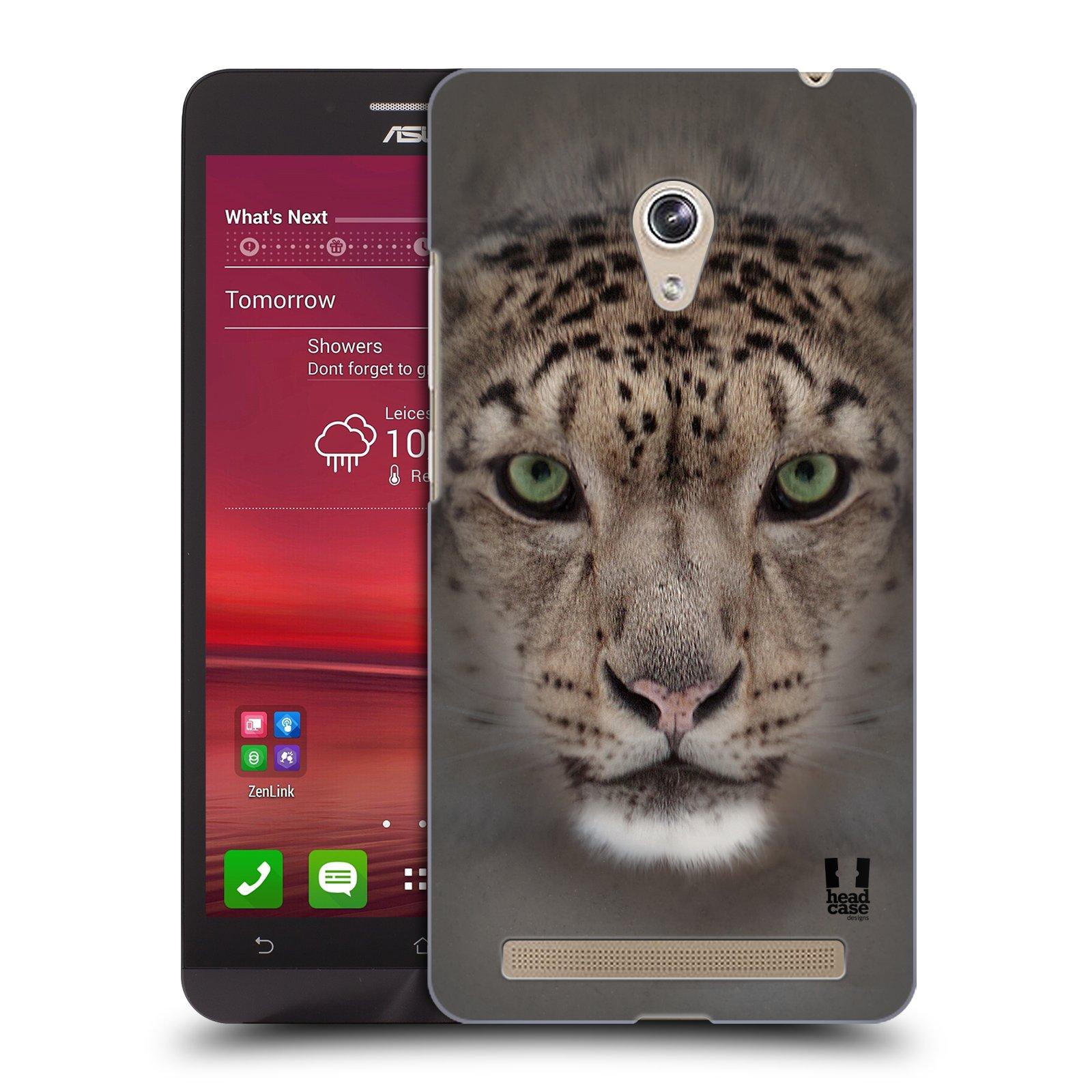 HEAD CASE plastový obal na mobil Asus Zenfone 6 vzor Zvířecí tváře 2 sněžný leopard