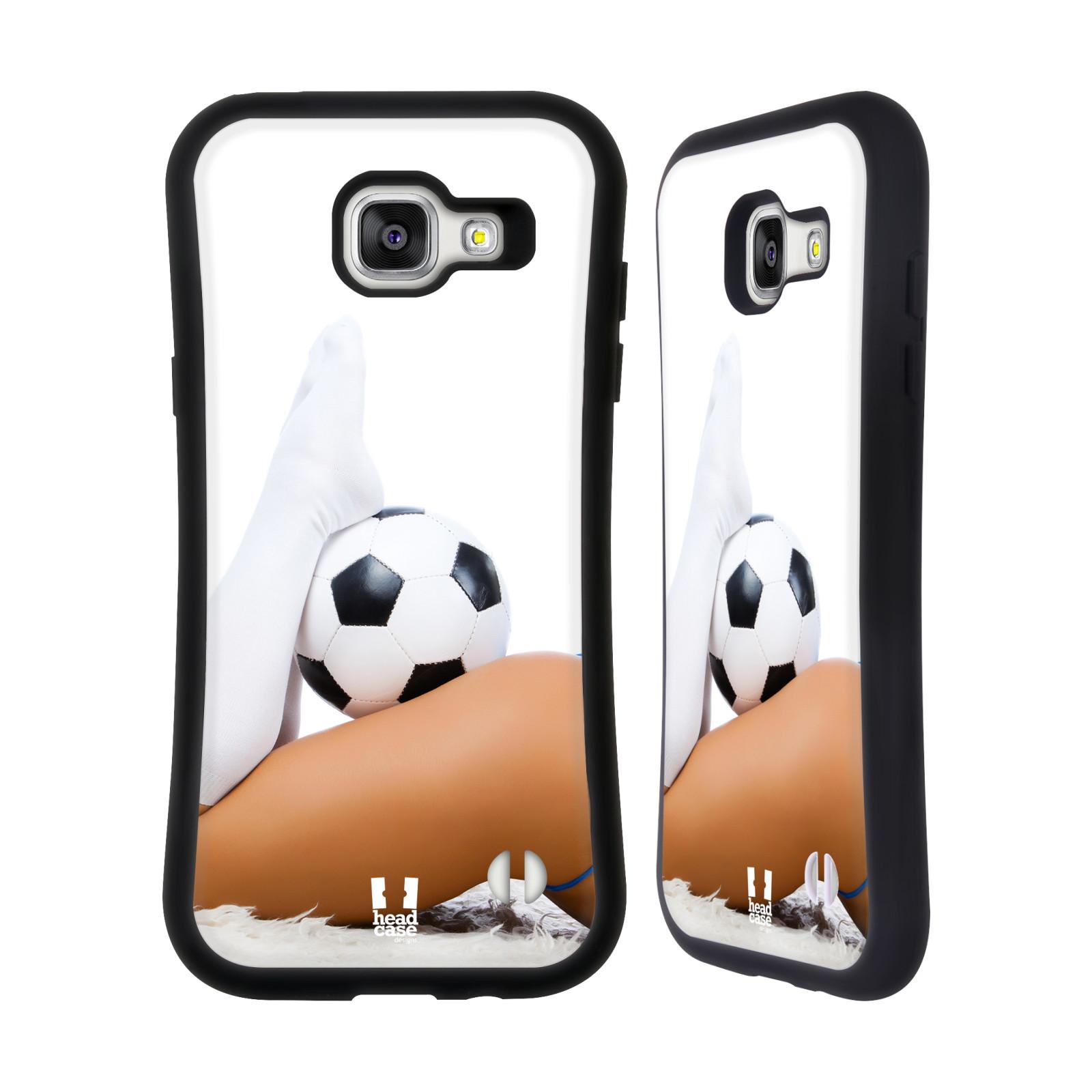 HEAD CASE silikon/plast odolný obal na mobil Samsung Galaxy A5 2016 vzor Fotbalové modelky PODKOLENKY