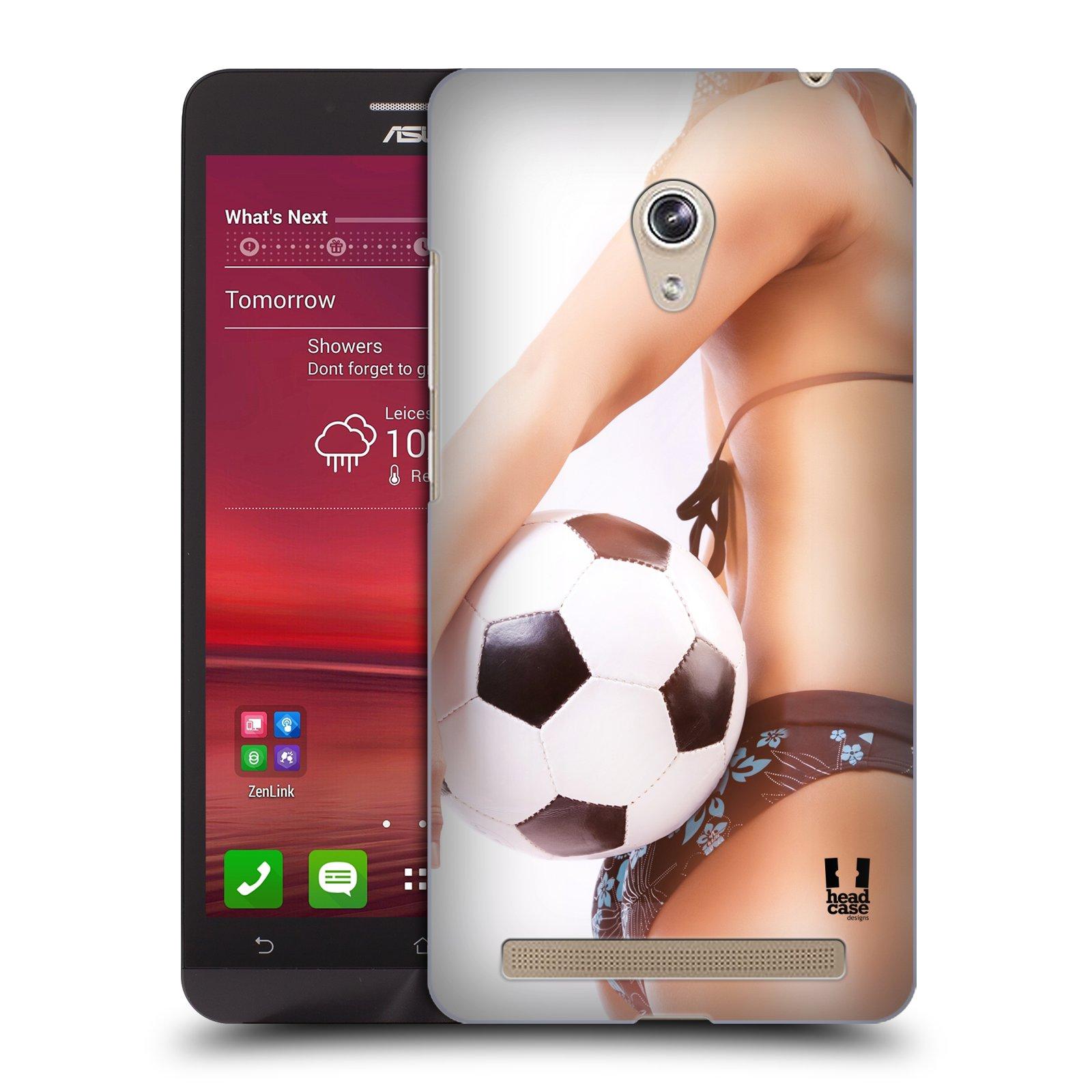 HEAD CASE plastový obal na mobil Asus Zenfone 6 vzor Fotbalové modelky KOPACÍ MÍČ